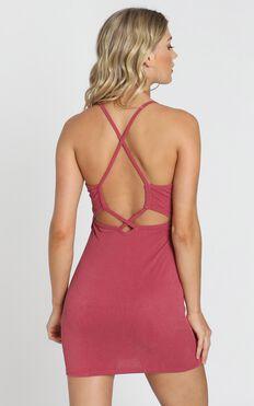 Zinnia Dress In Pink