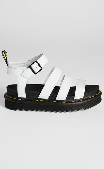 Dr. Martens - Blaire Chunky 3 Strap Sandal in White