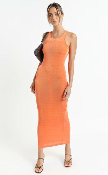 Lioness - Everlast Dress in Orange