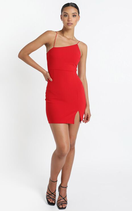 My Whole Heart Dress in Red