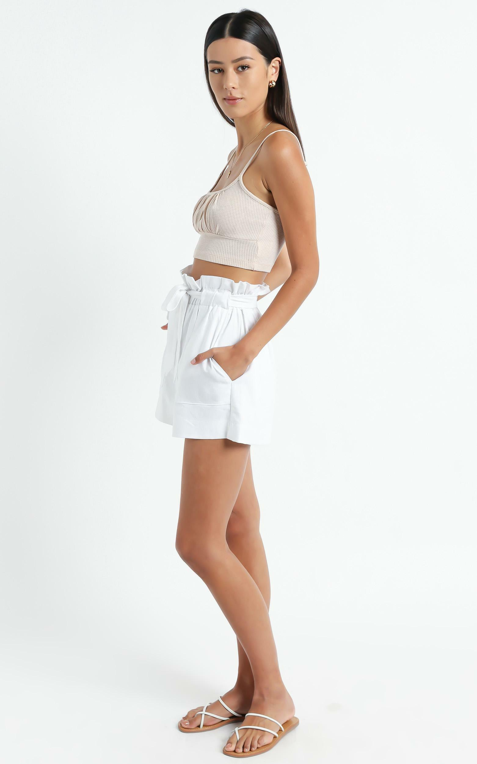 All Rounder Shorts in White - 14 (XL), White, hi-res image number null