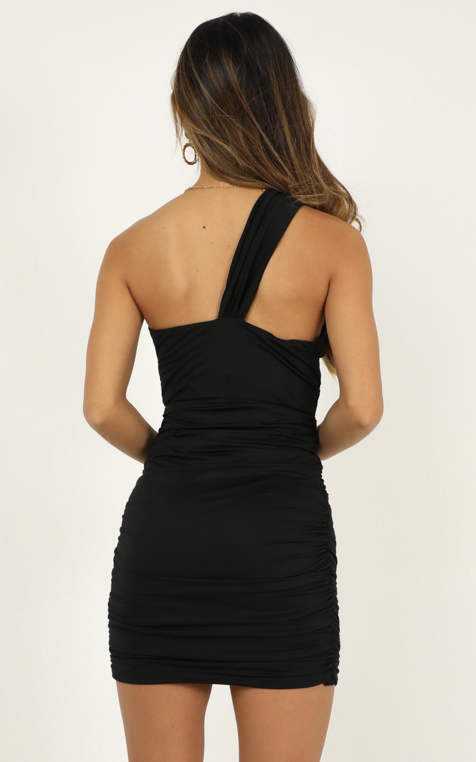 Dressed in Heaven dress in black - 14 (XL), Black, hi-res image number null