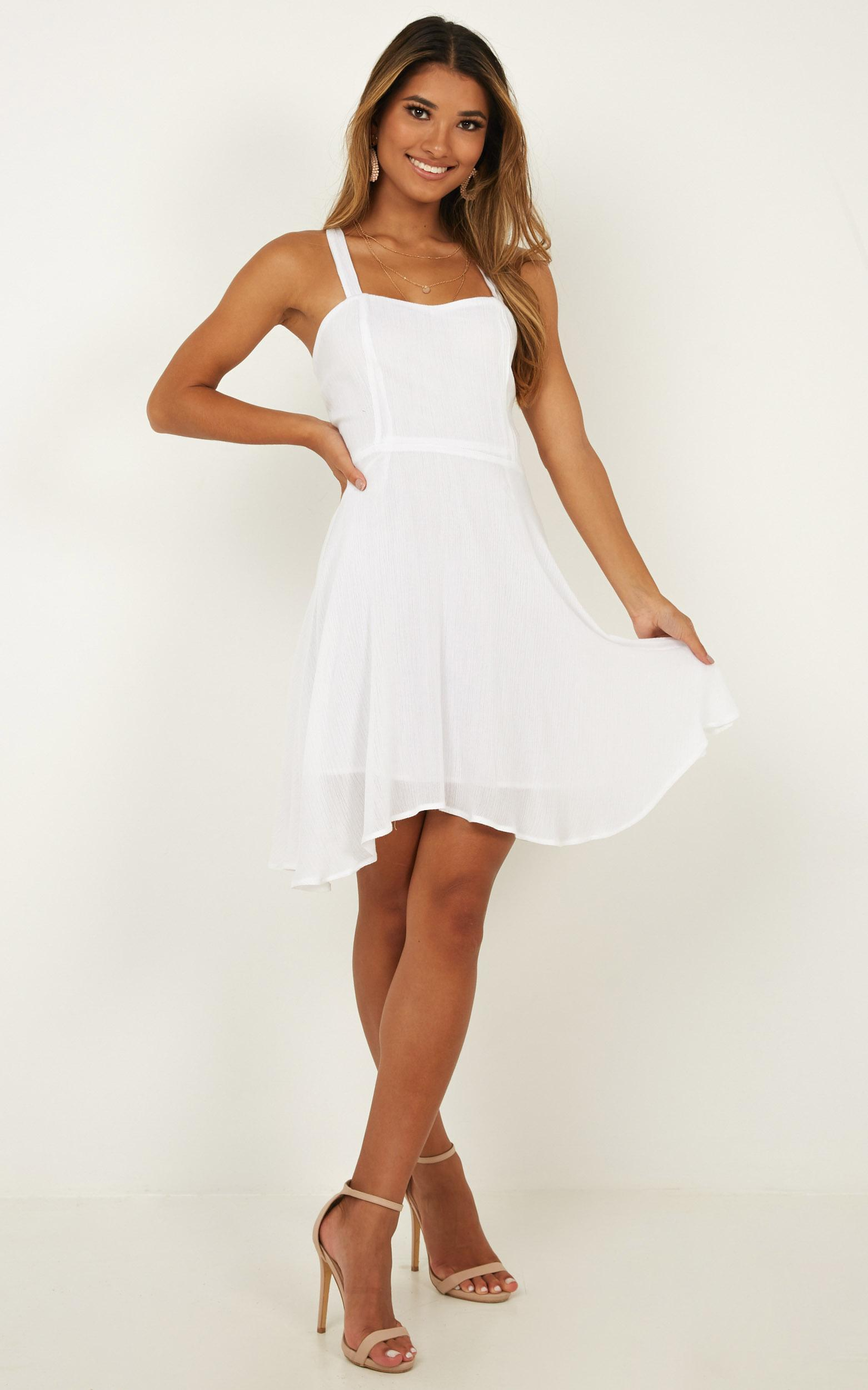 Soaring For You Dress in white - 20 (XXXXL), White, hi-res image number null