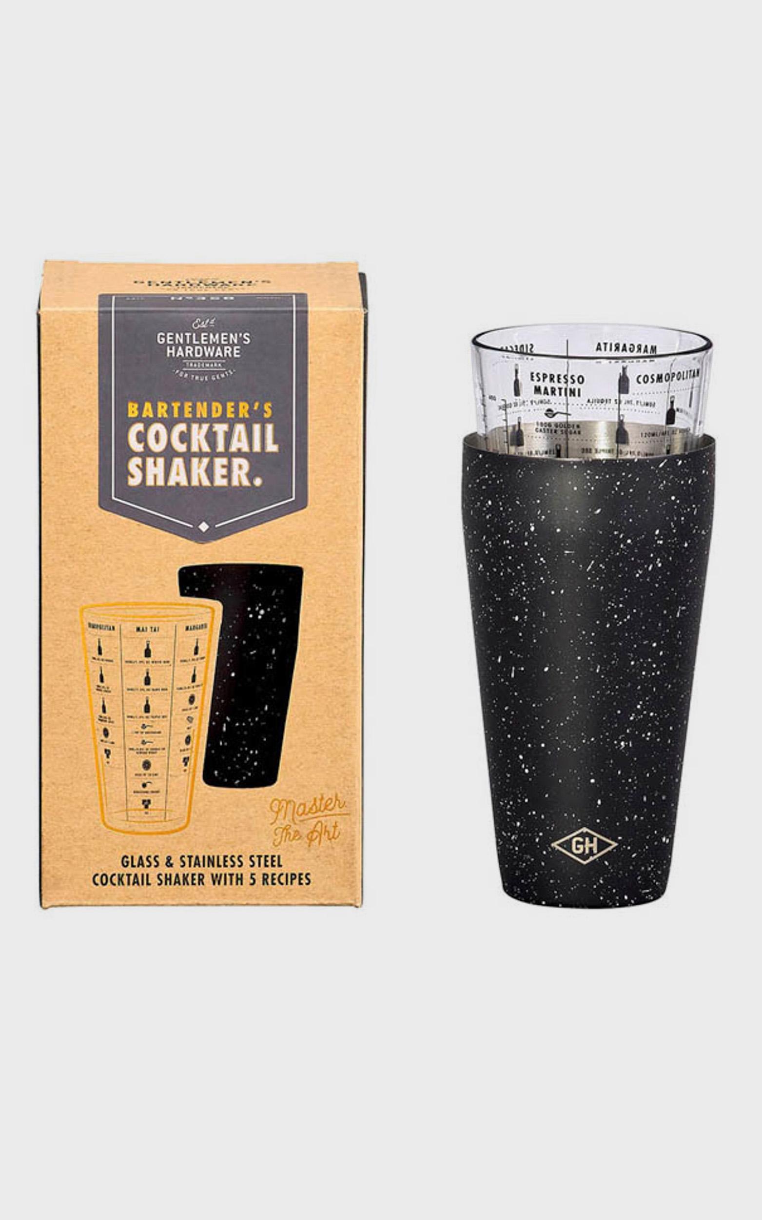Bartender's Cocktail Shaker , , hi-res image number null