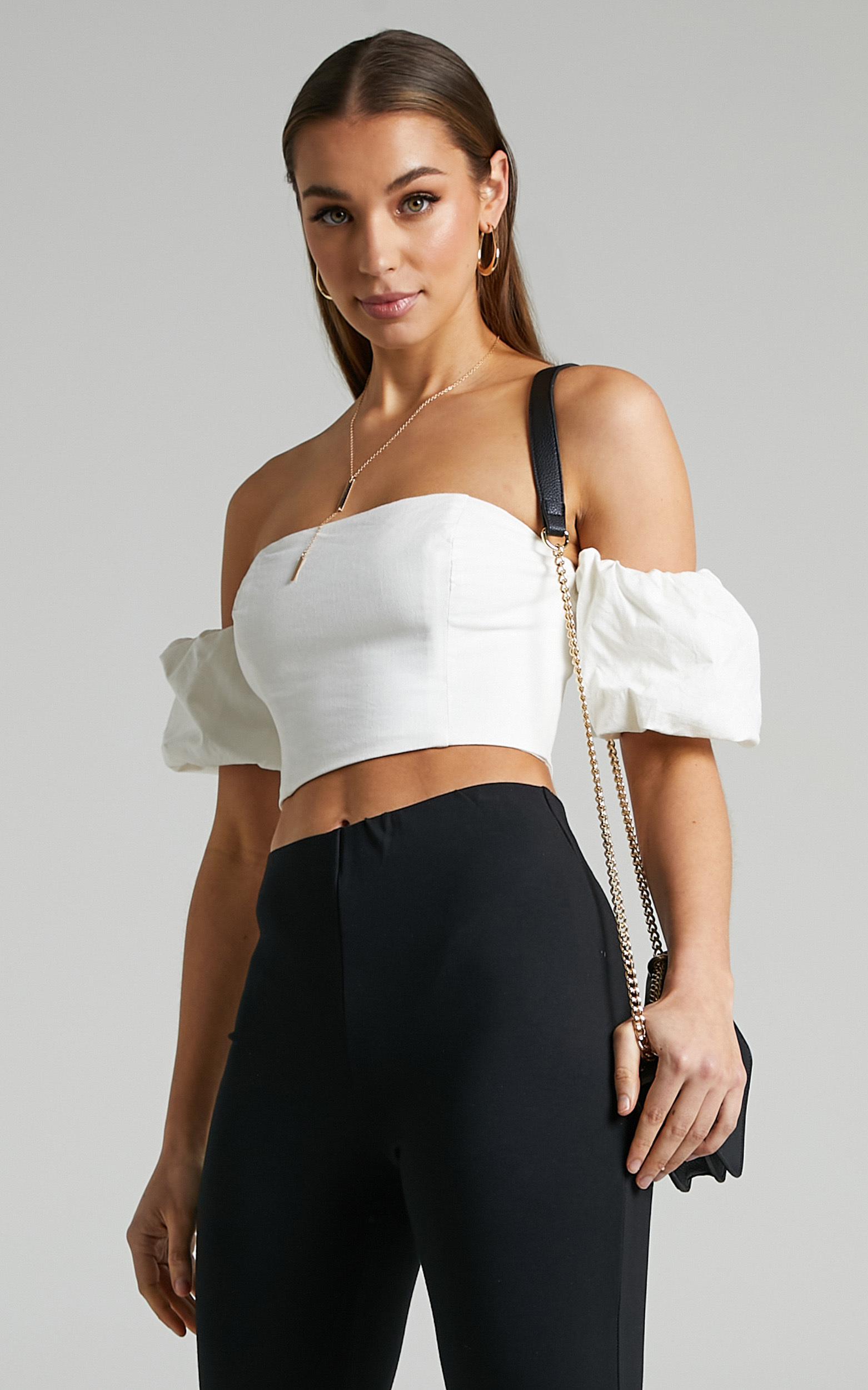 Runaway The Label - Briar Top in White - L, WHT1, hi-res image number null