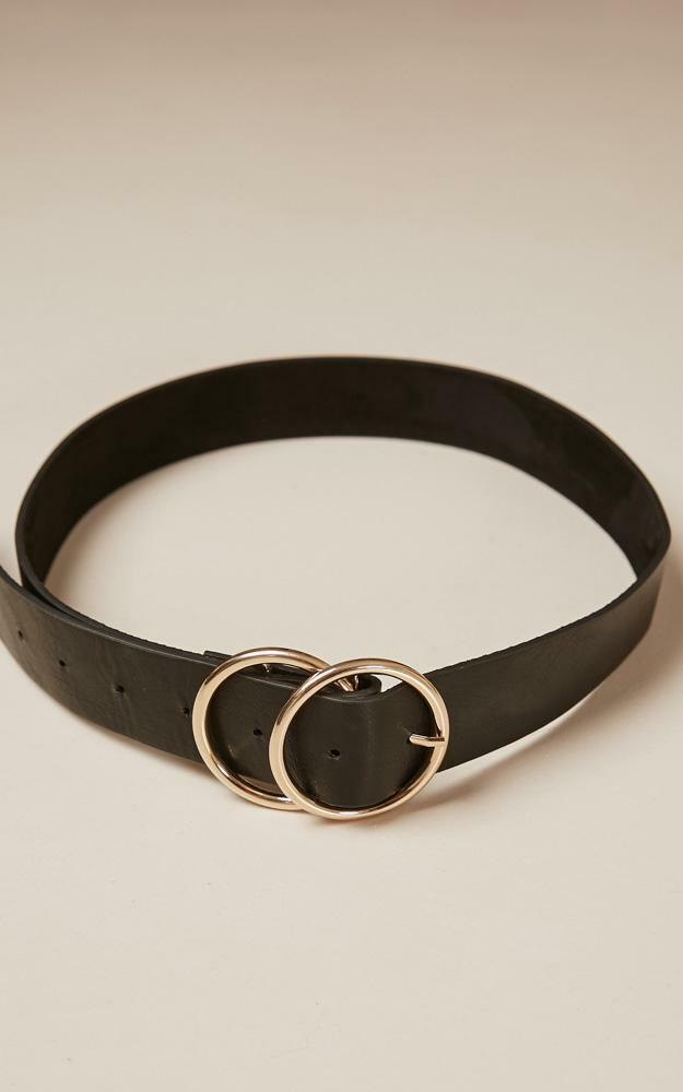 Midnight Charm belt in black and gold - S/M, BLK2, hi-res image number null