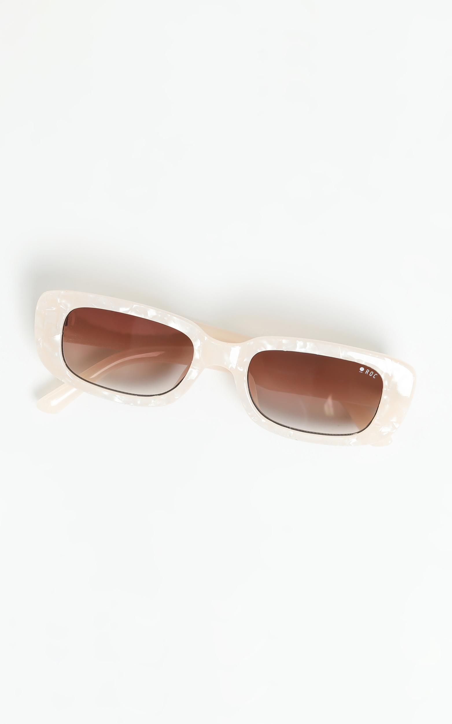 Roc - Creeper Sunglasses in Pearl White, , hi-res image number null