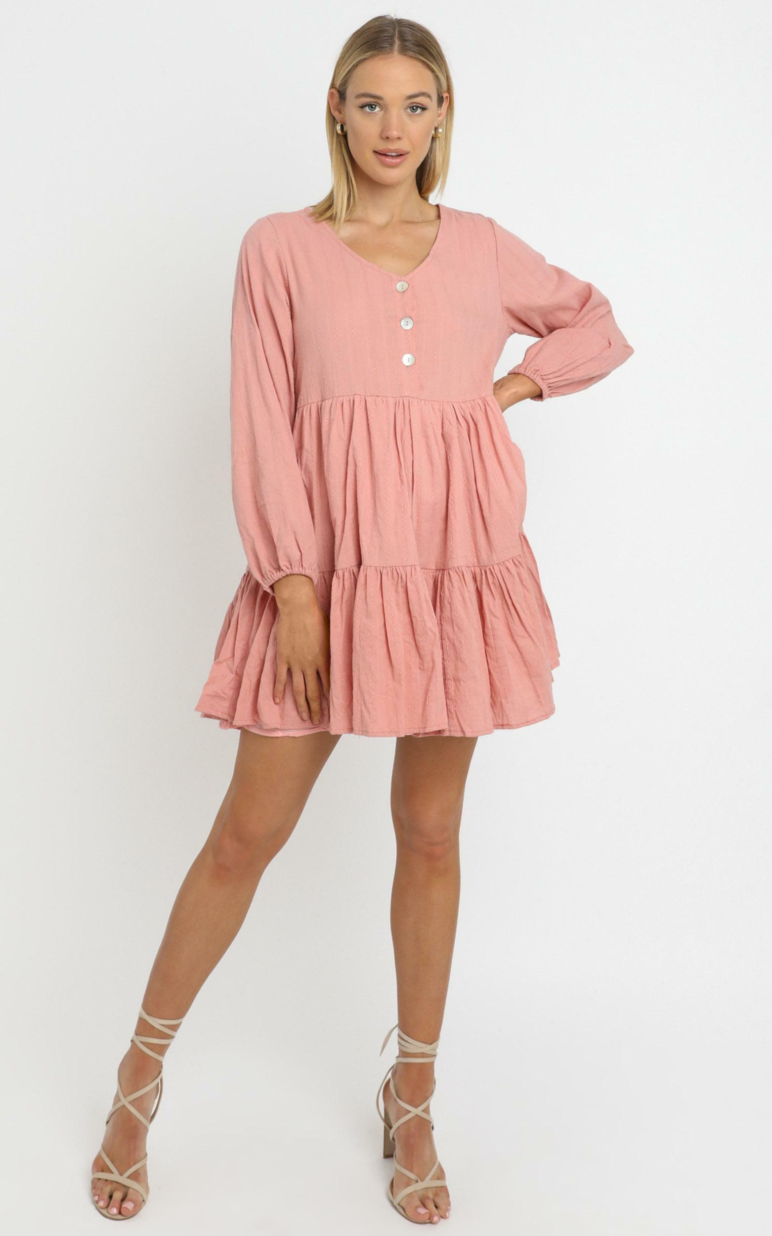 Chester Dress in Pink - 14 (XL), Pink, hi-res image number null