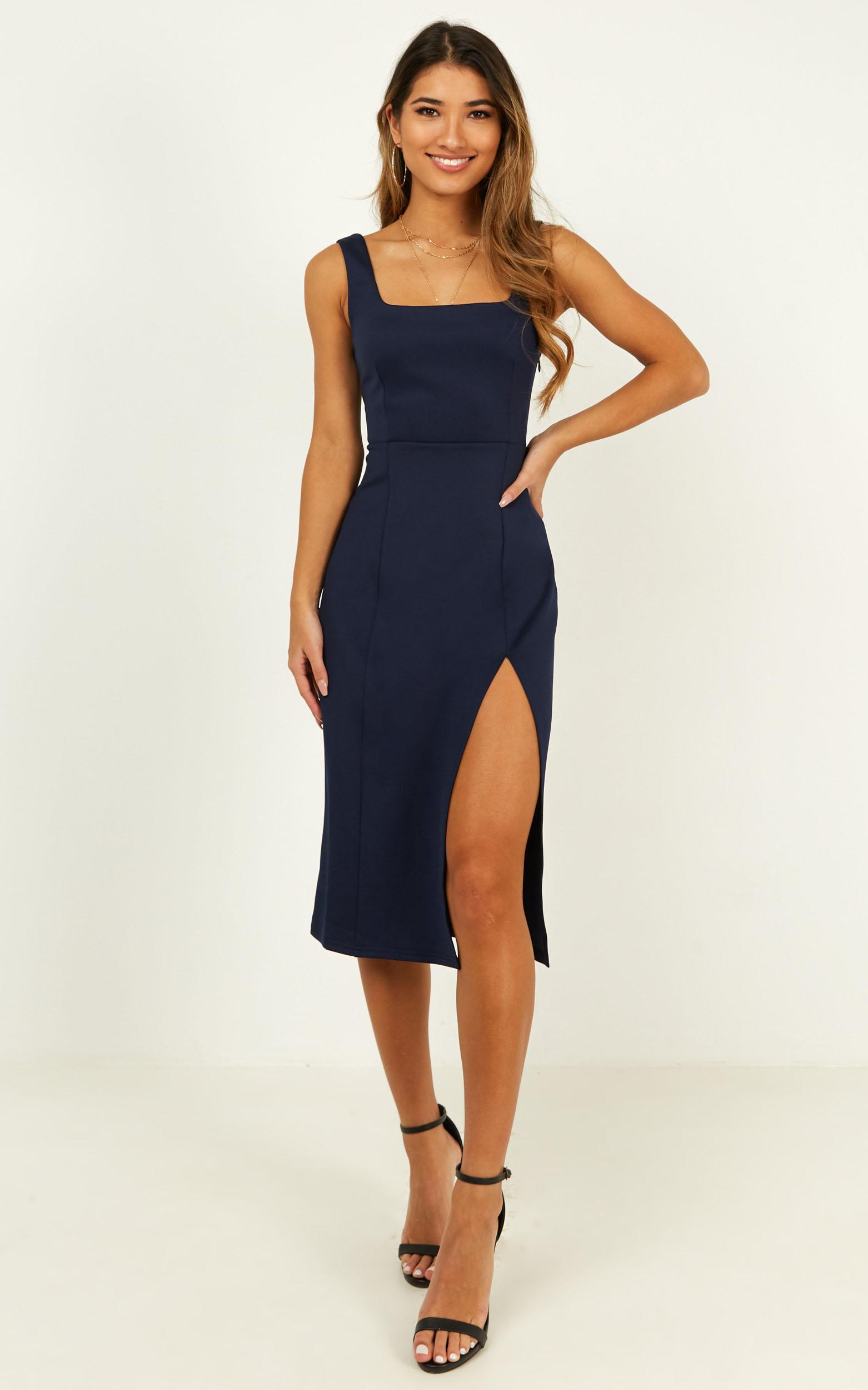 Mini Love Dress in navy - 20 (XXXXL), Navy, hi-res image number null