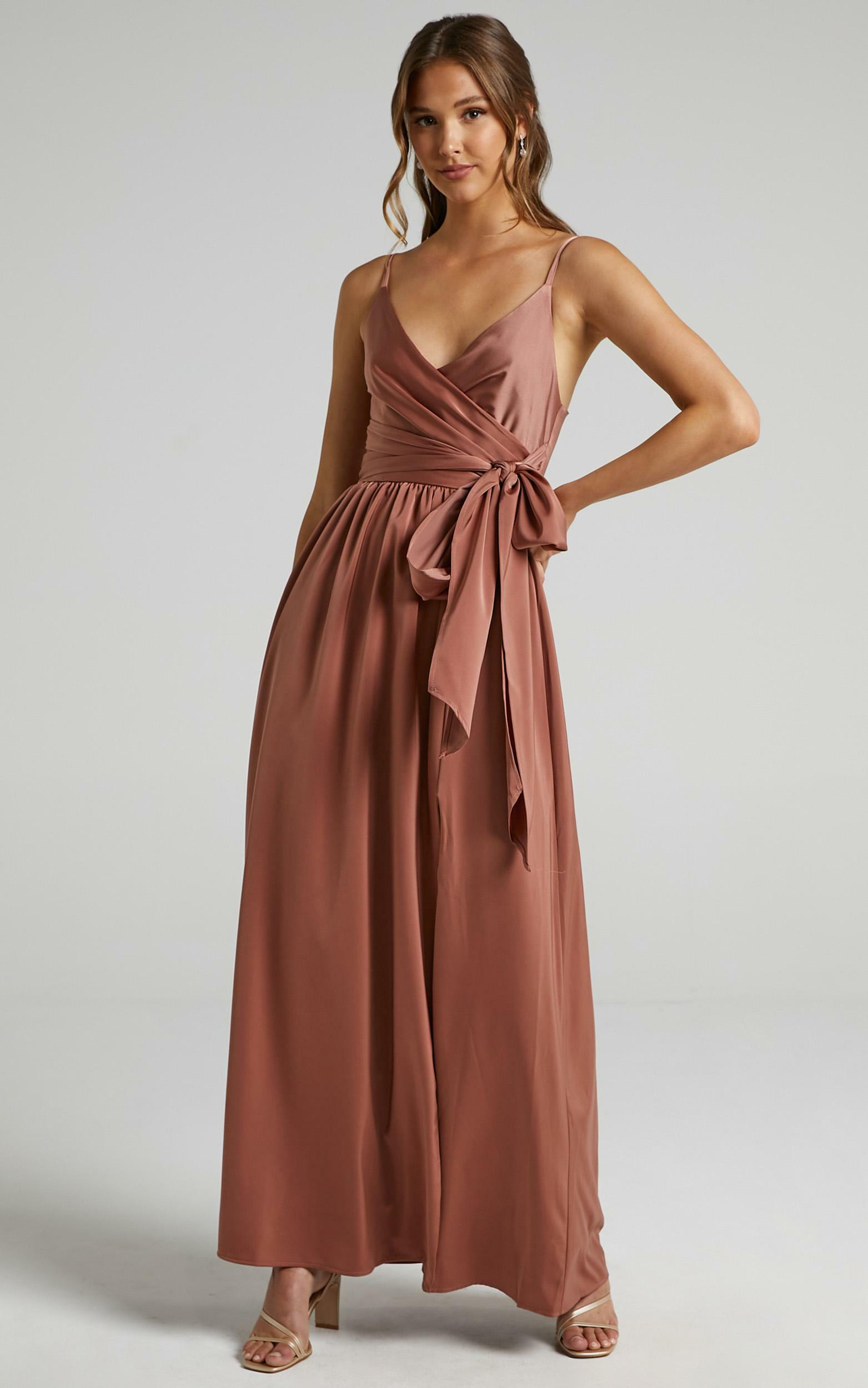 Revolve Around Me Dress in Dusty Rose - 16, PNK3, hi-res image number null