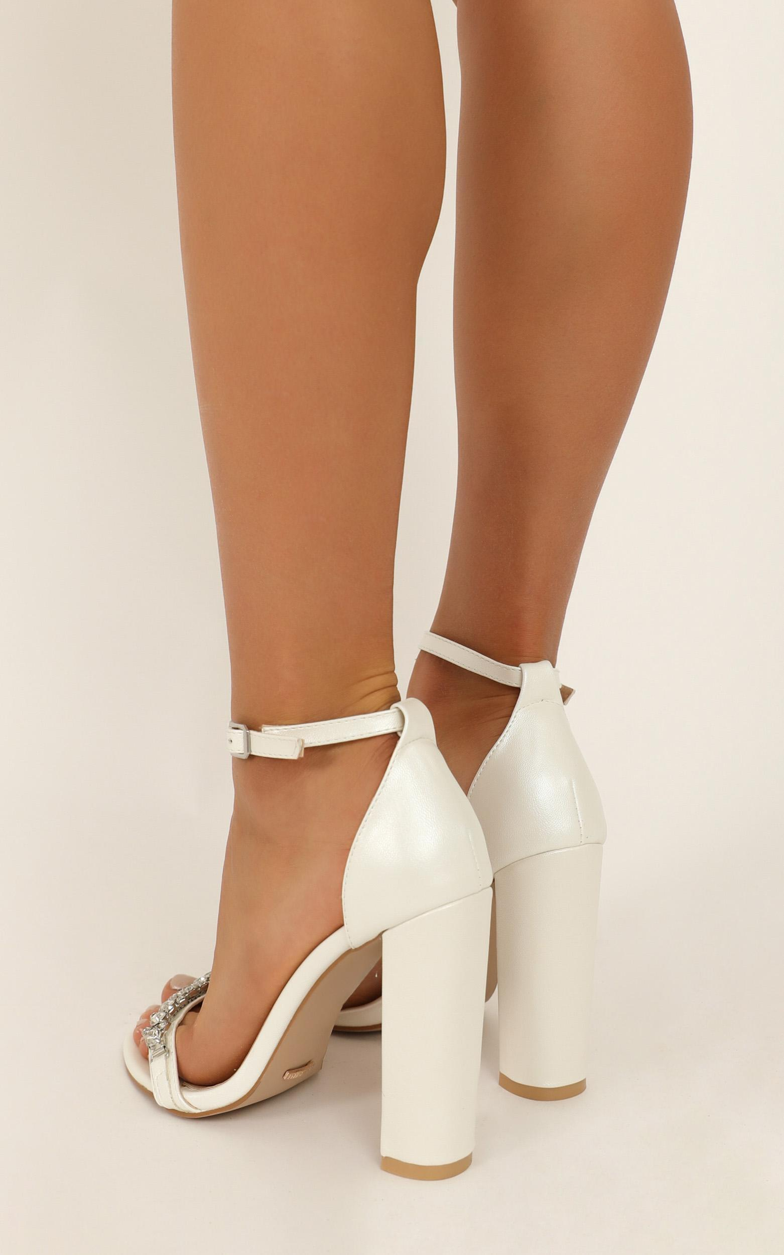Billini - Laine Heels In white pearl - 10, White, hi-res image number null