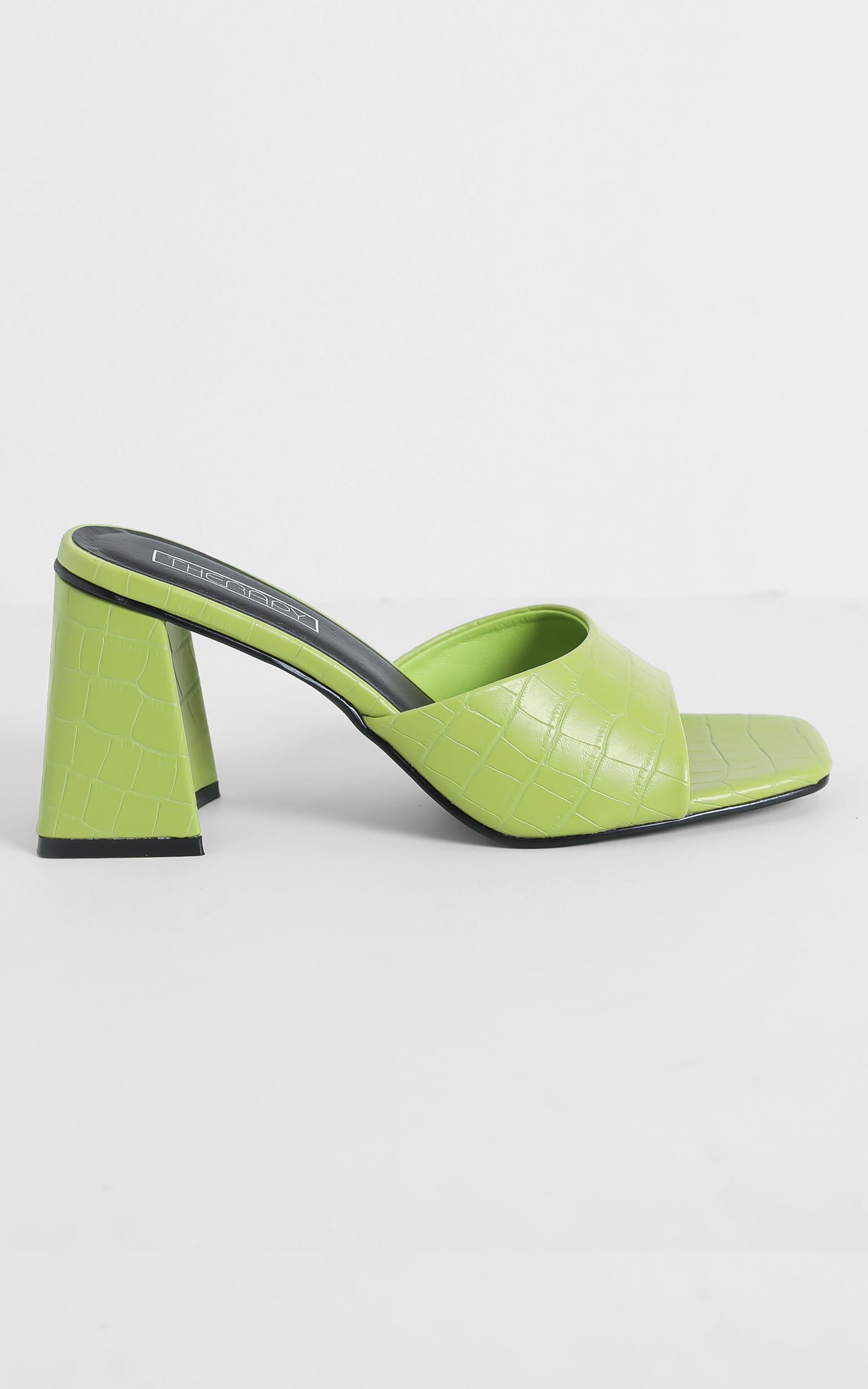 Therapy - Colina Heels in Lime Green - 05, GRN3, hi-res image number null