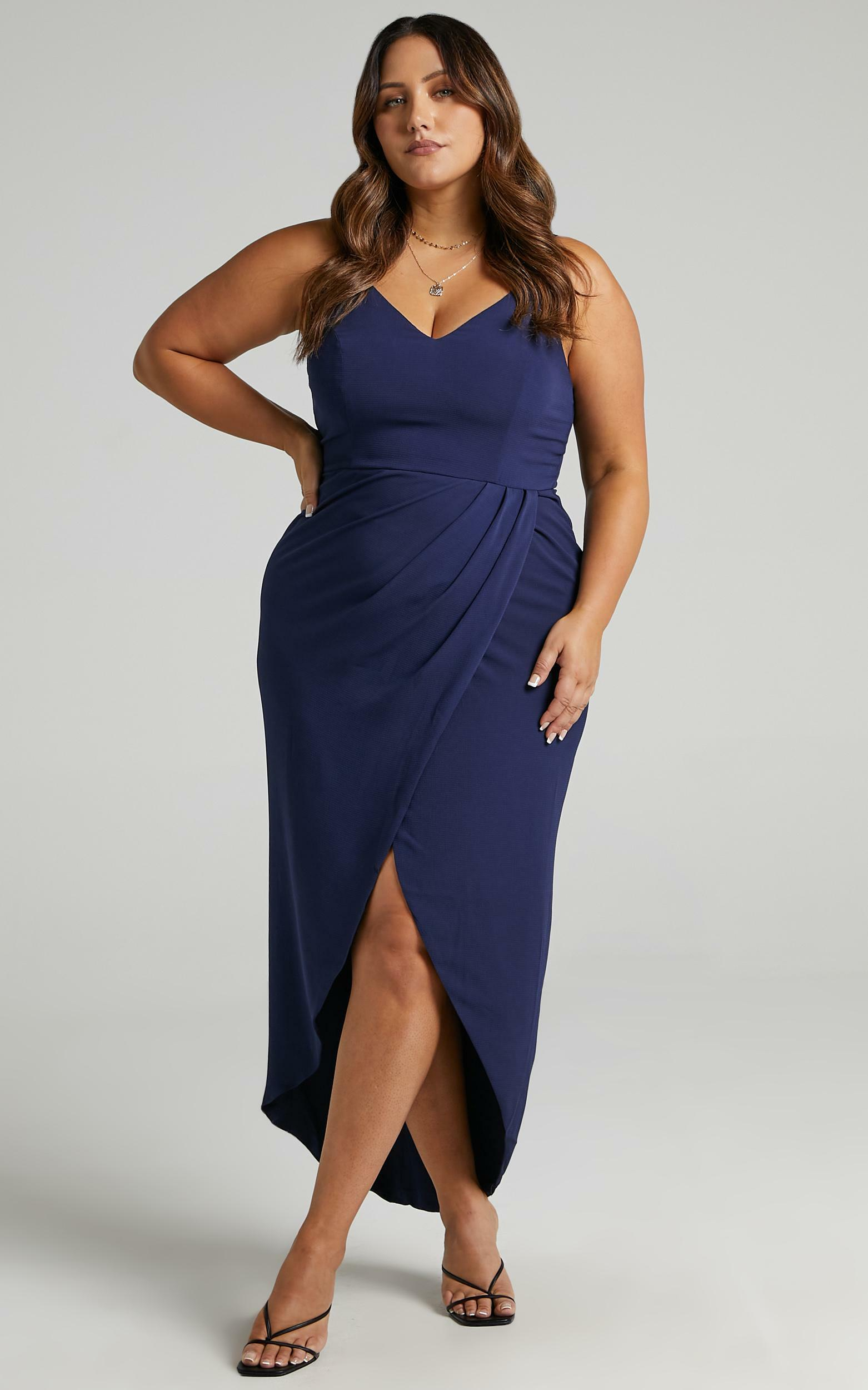 Lucky Day Maxi Dress in Navy - 06, NVY7, hi-res image number null