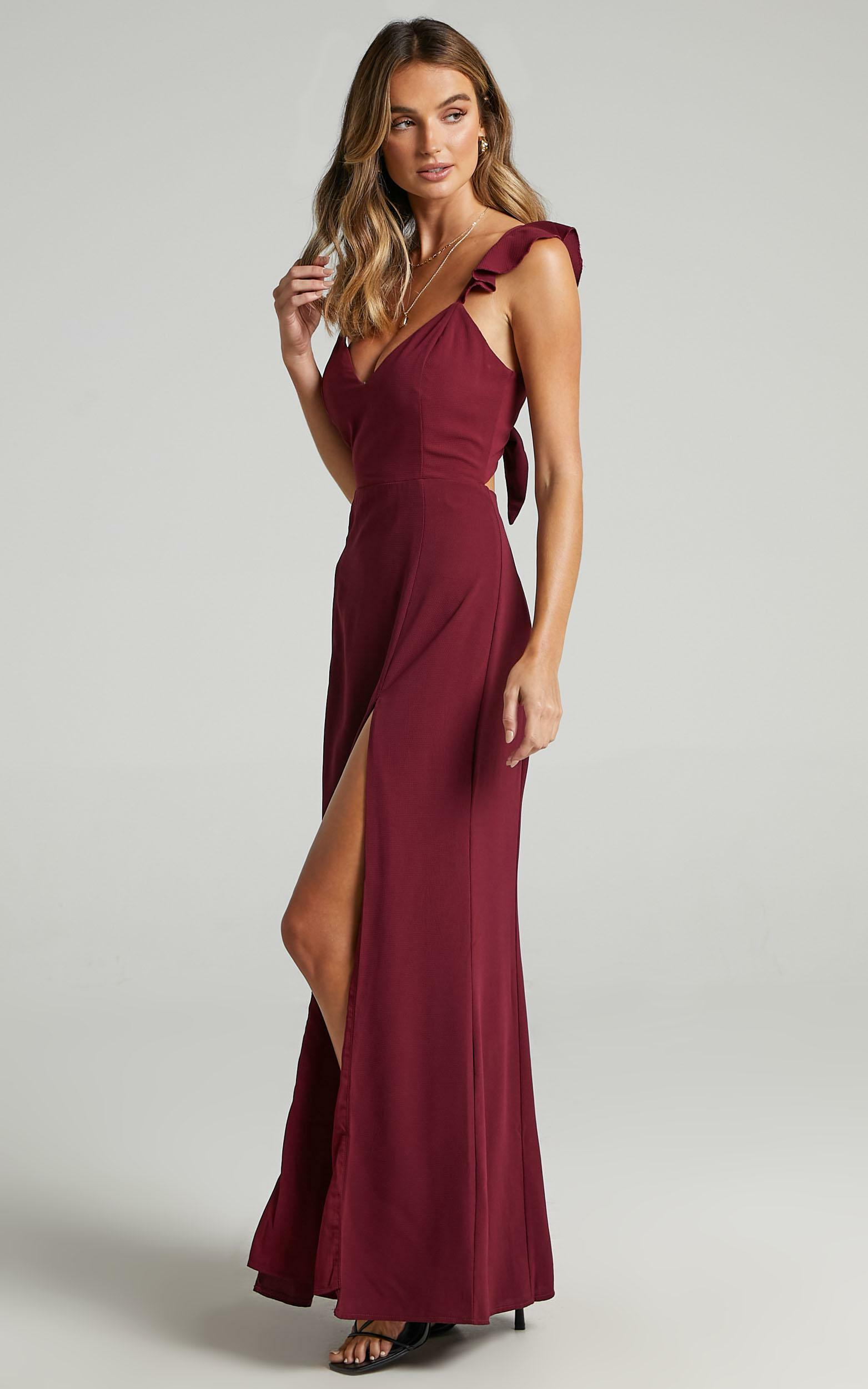 More Than This Dress in Wine - 06, WNE6, hi-res image number null