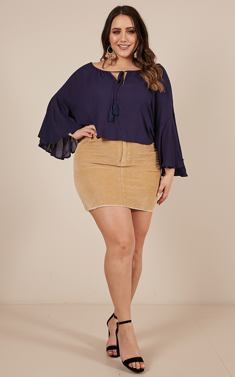 Made To Dance Top in navy - 10 (M), Navy, hi-res image number null
