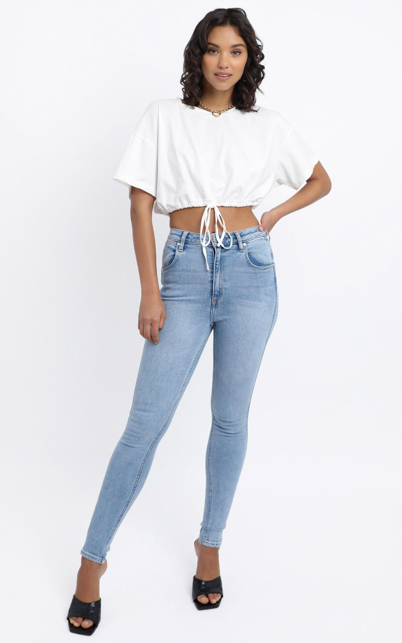 Partridge Top in White - 12 (L), White, hi-res image number null