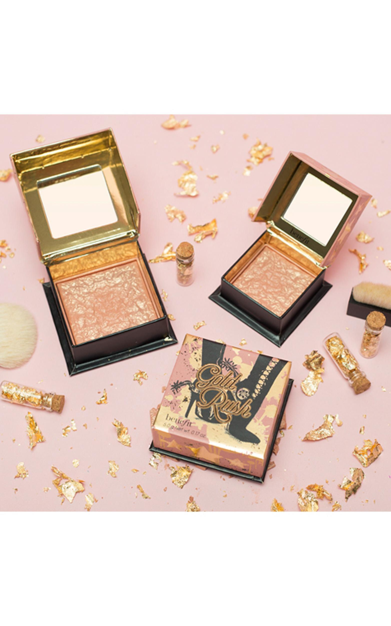 Benefit - Gold Rush Blush Mini in Golden Nectar, , hi-res image number null