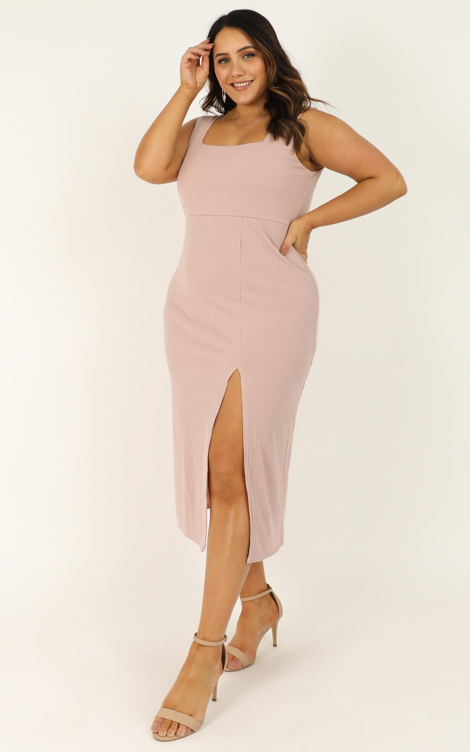 Sticking With My Strengths Dress in blush - 20 (XXXXL), Blush, hi-res image number null