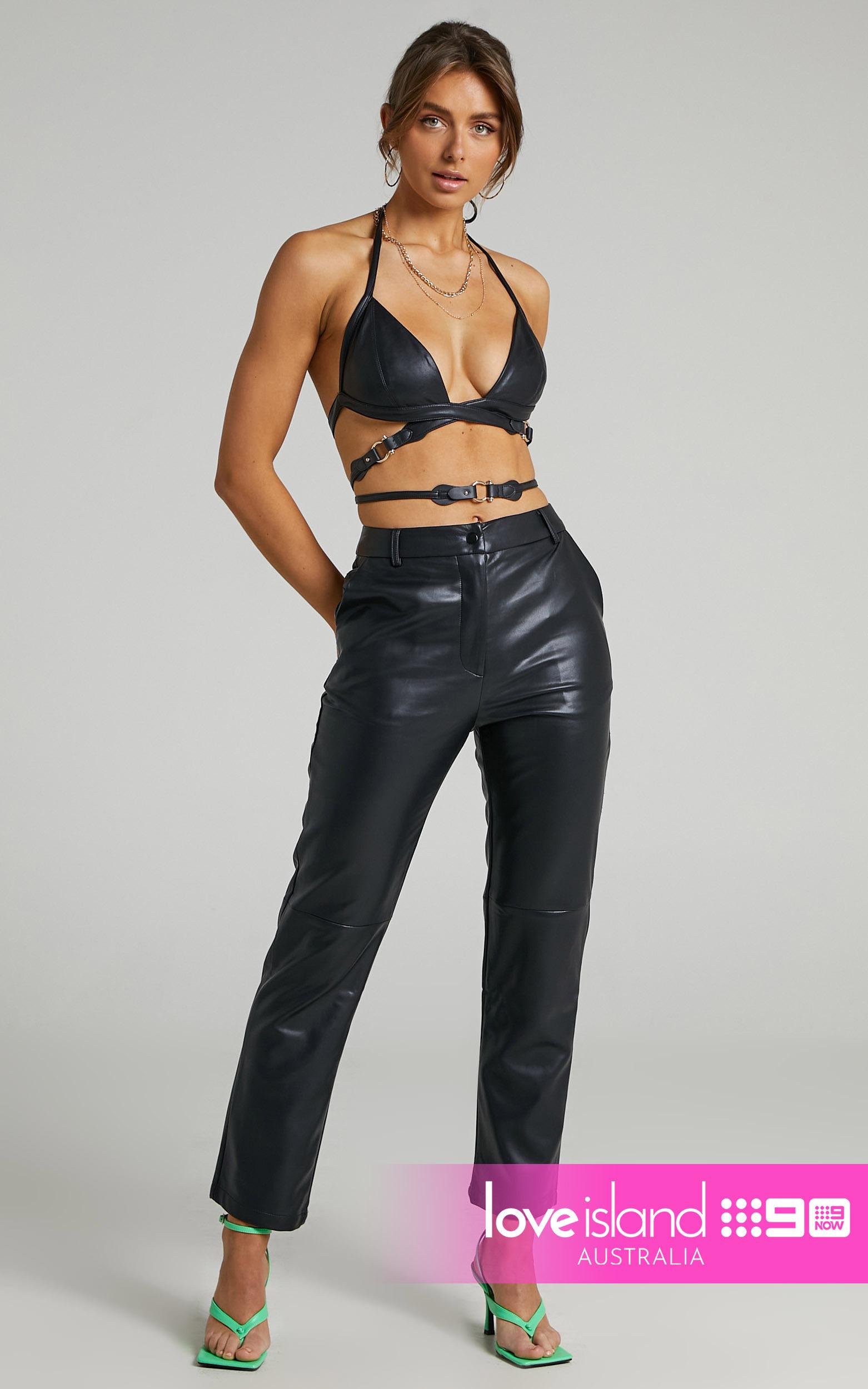 Runaway The Label - Charli Pants in Black - L, BLK1, hi-res image number null