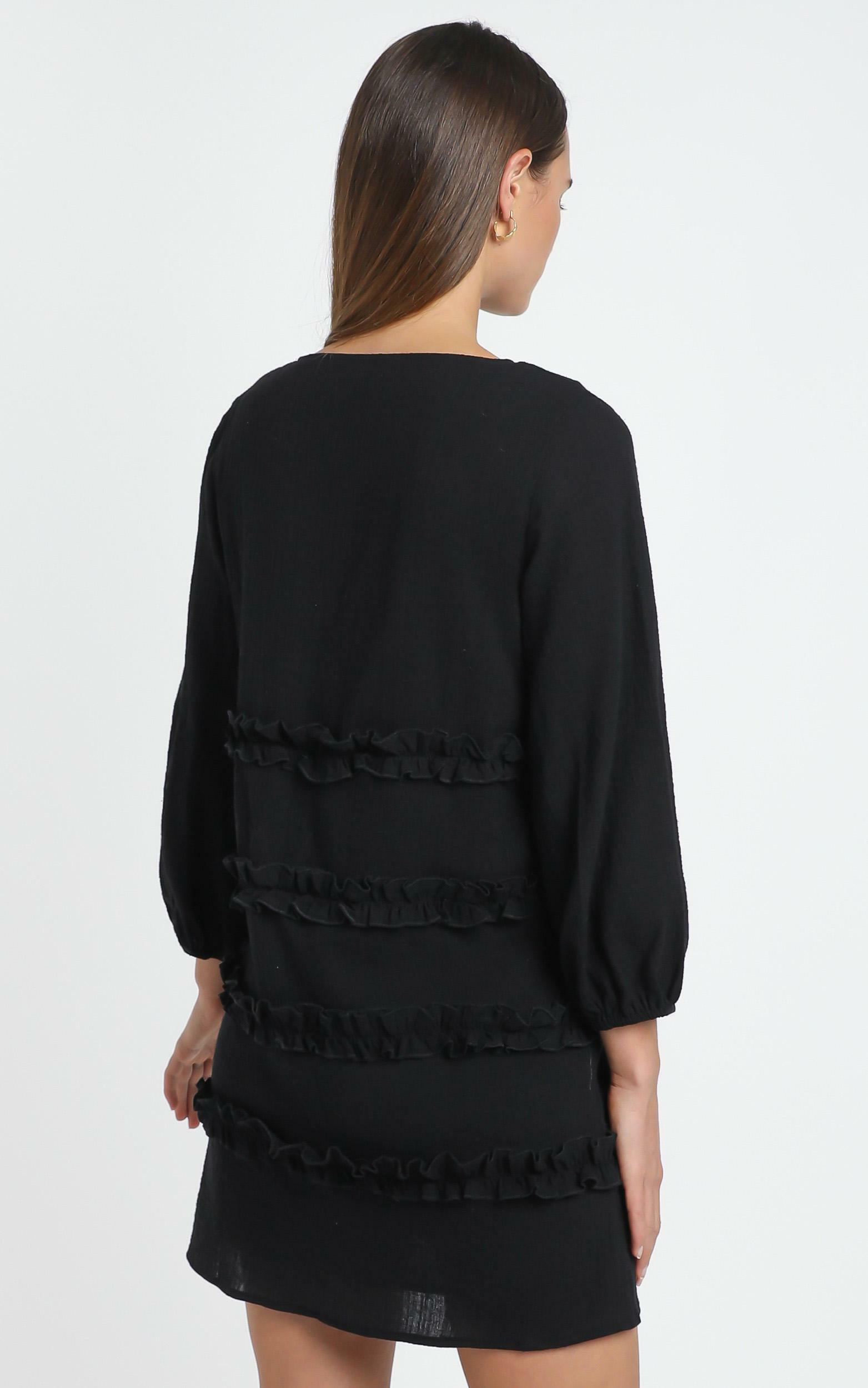 Sweetest Cheer Dress in black - 18 (XXXL), Black, hi-res image number null