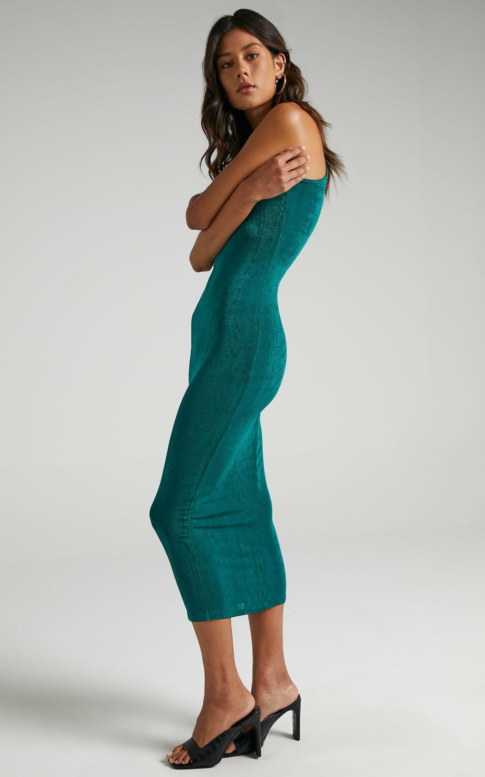 Lioness - Everlast Dress in Forest Green - 6 (XS), GRN5, hi-res image number null