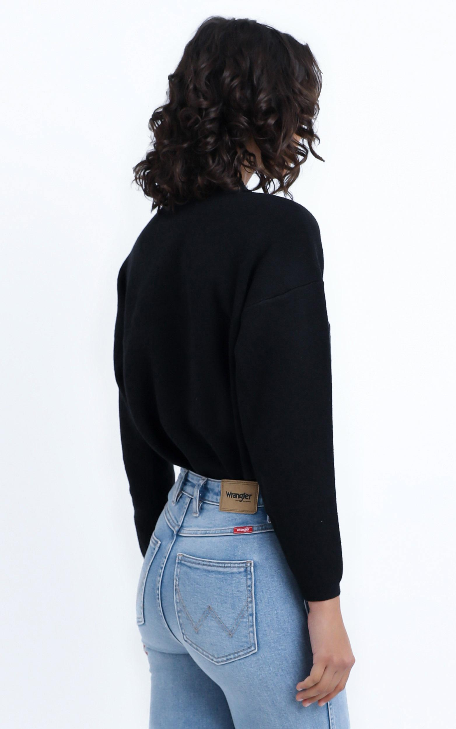Midnight Glow Knit Jumper in Black - 12 (L), BLK1, hi-res image number null