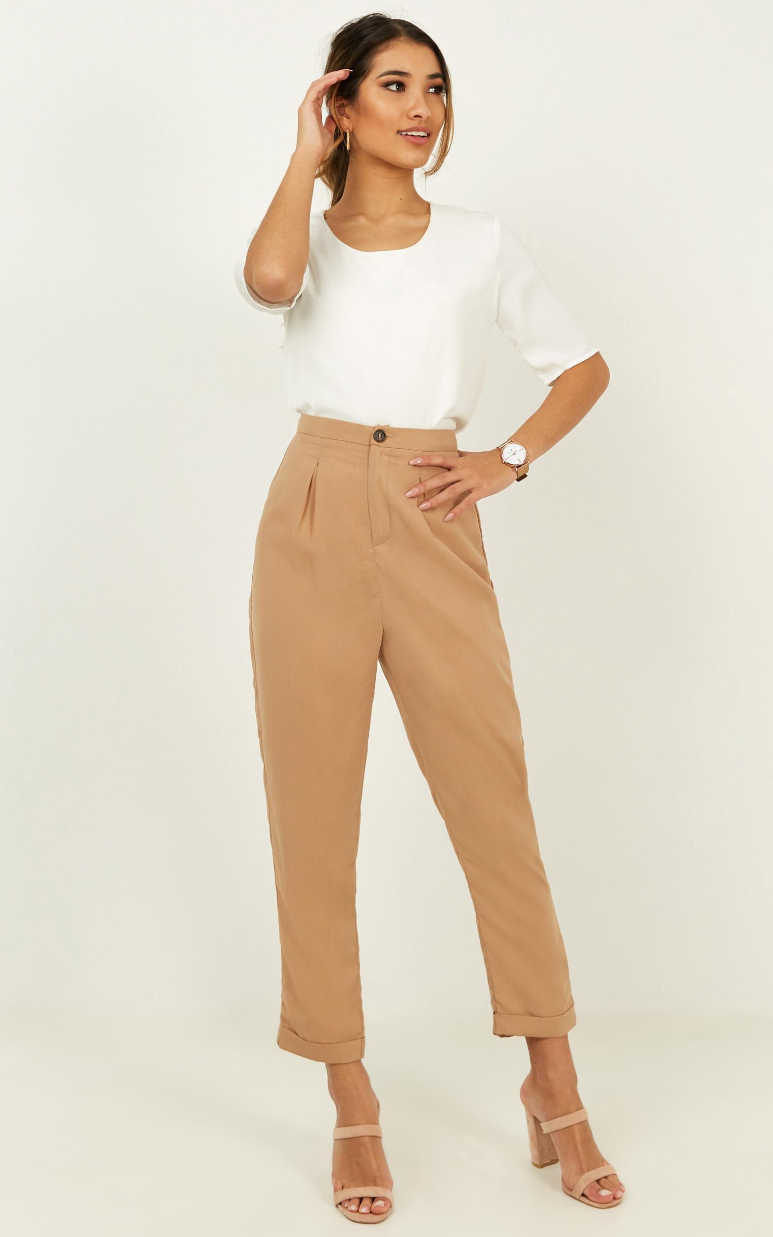 Members Only Pants in beige - 20 (XXXXL), Beige, hi-res image number null