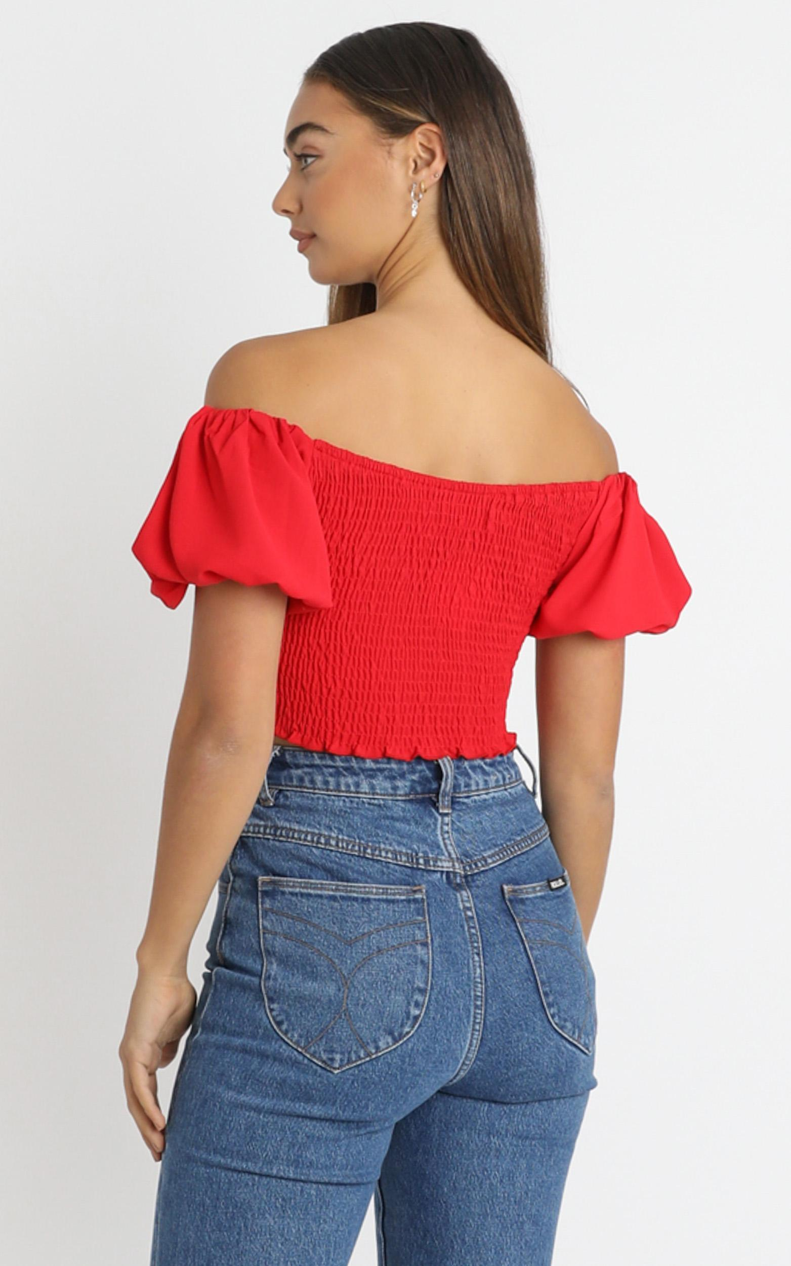 Adanya Top in Red - 6 (XS), Red, hi-res image number null