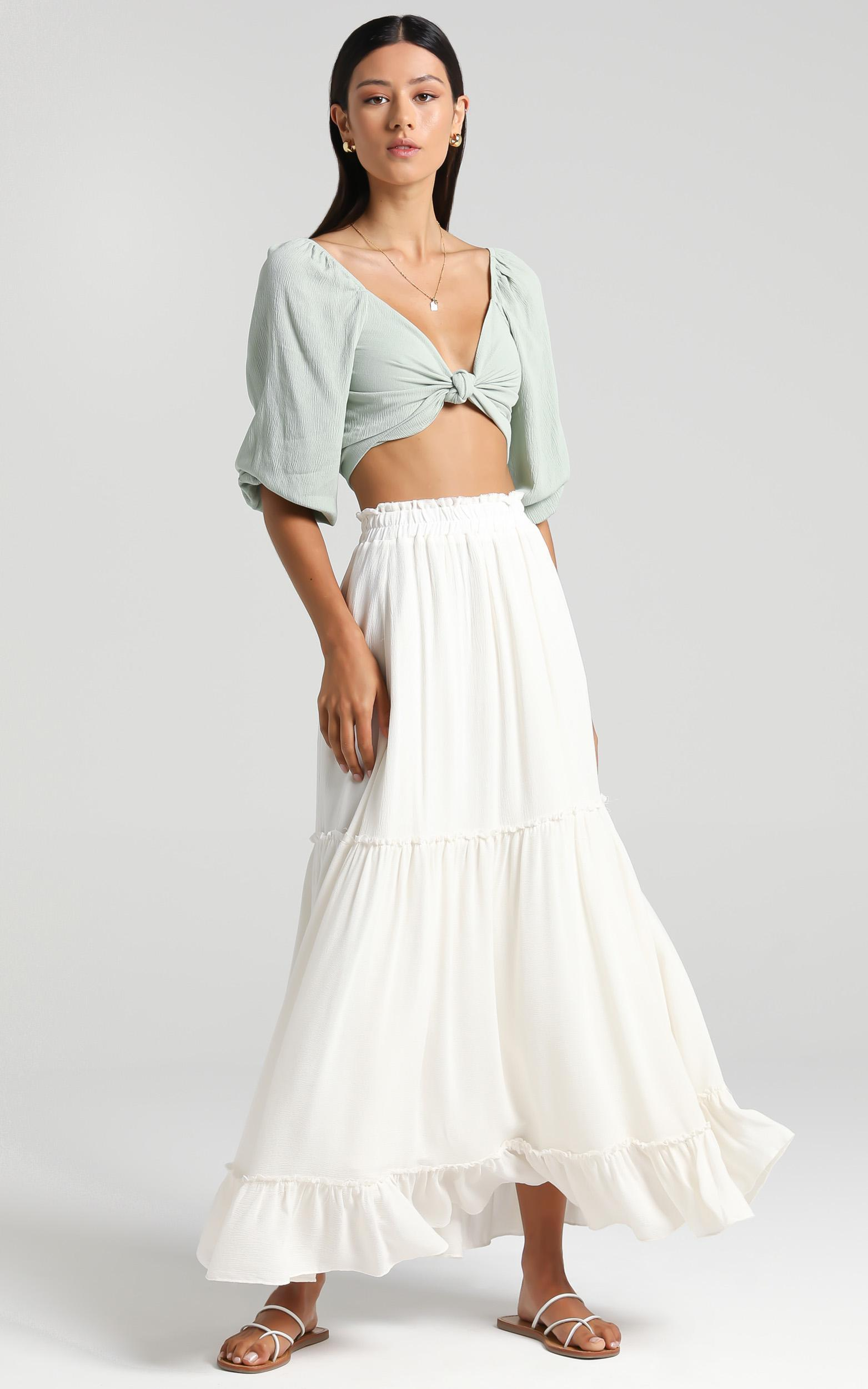 Thessy Skirt in Cream - 6 (XS), Cream, hi-res image number null