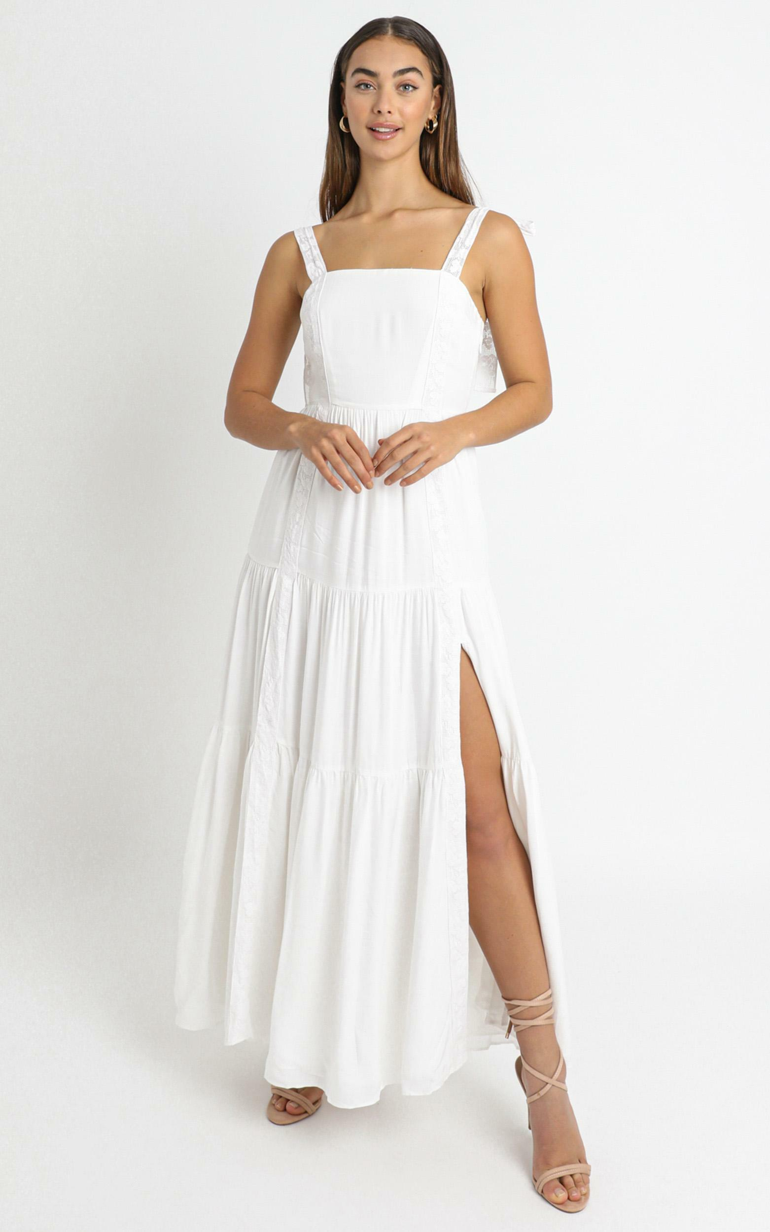 Afternoon Stroll Maxi Dress In white - 4 (XXS), WHT1, hi-res image number null