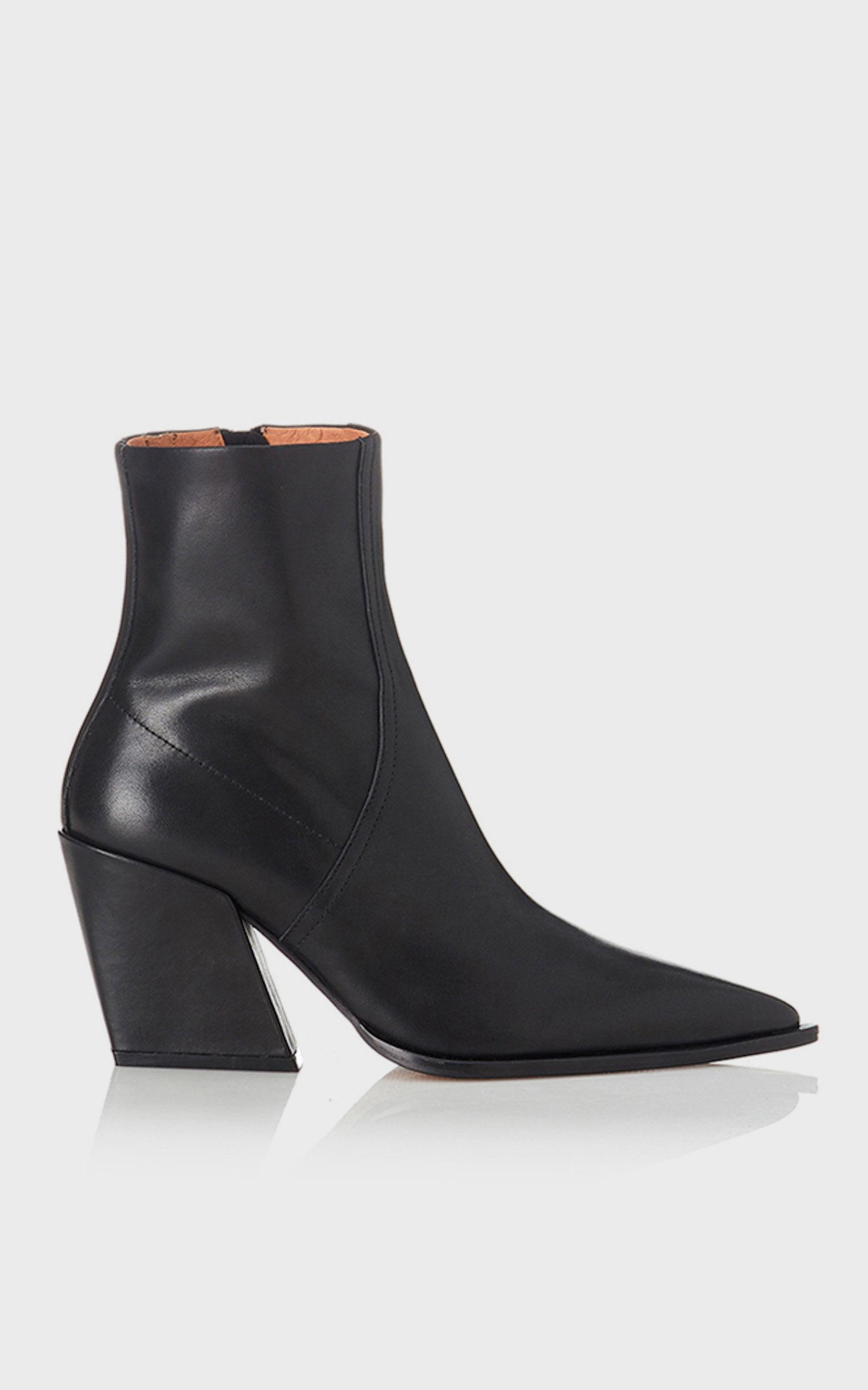 Alias Mae - Knight Boots in Black Burnished - 5.5, BLK1, hi-res image number null