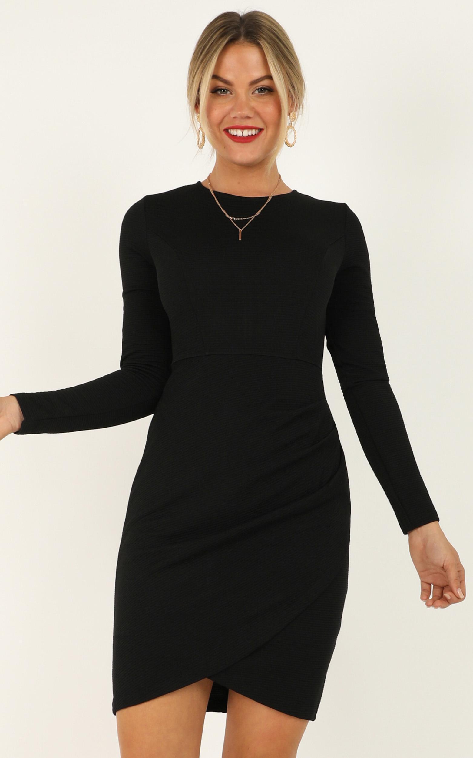 No Rain dress in black - 14 (XL), Black, hi-res image number null