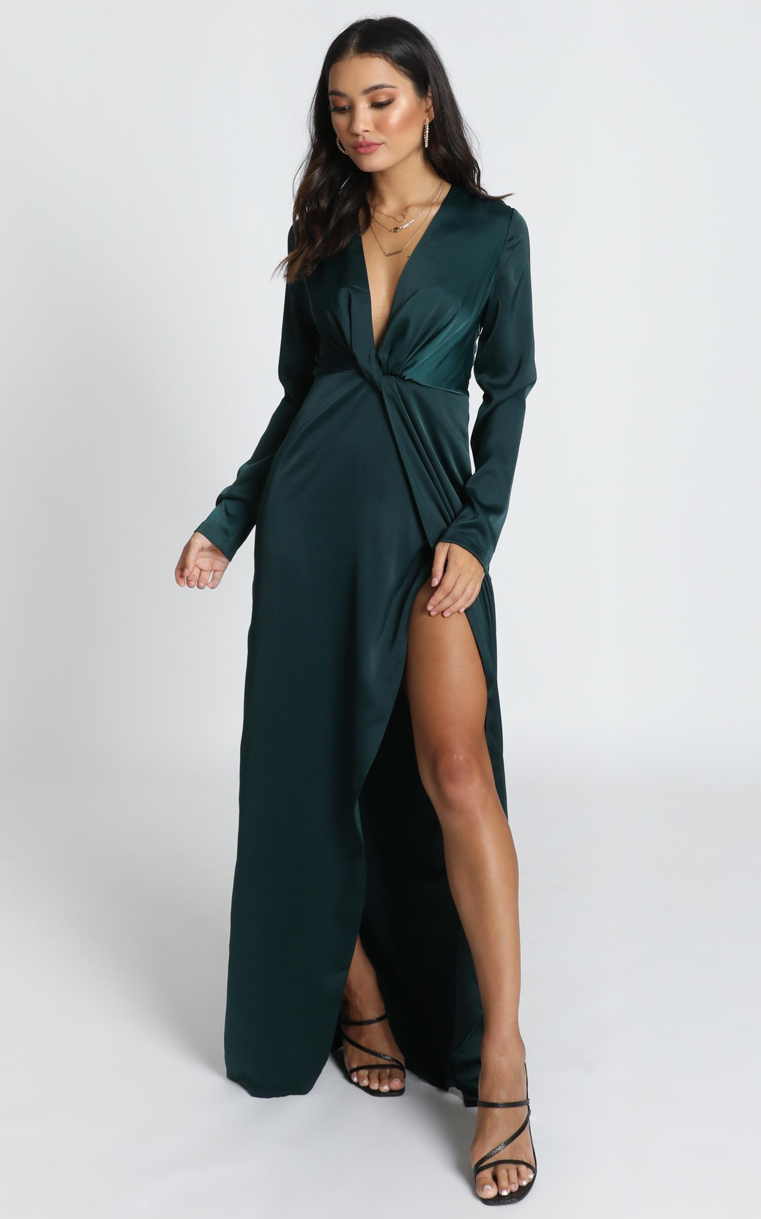 Can See It In Your Eyes Dress in emerald - 14 (XL), Green, hi-res image number null