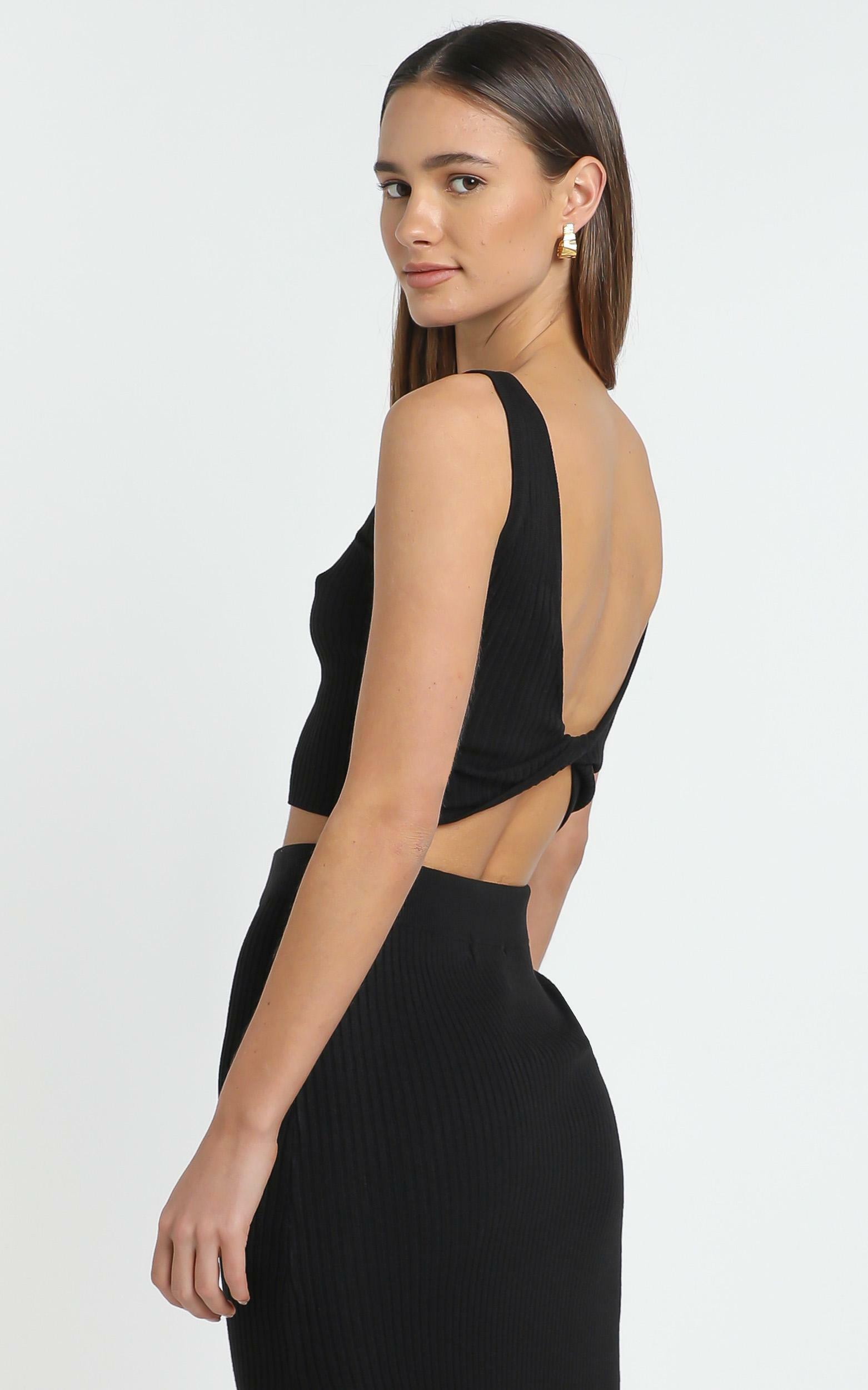 Hana Knit Top in Black - 12 (L), Black, hi-res image number null