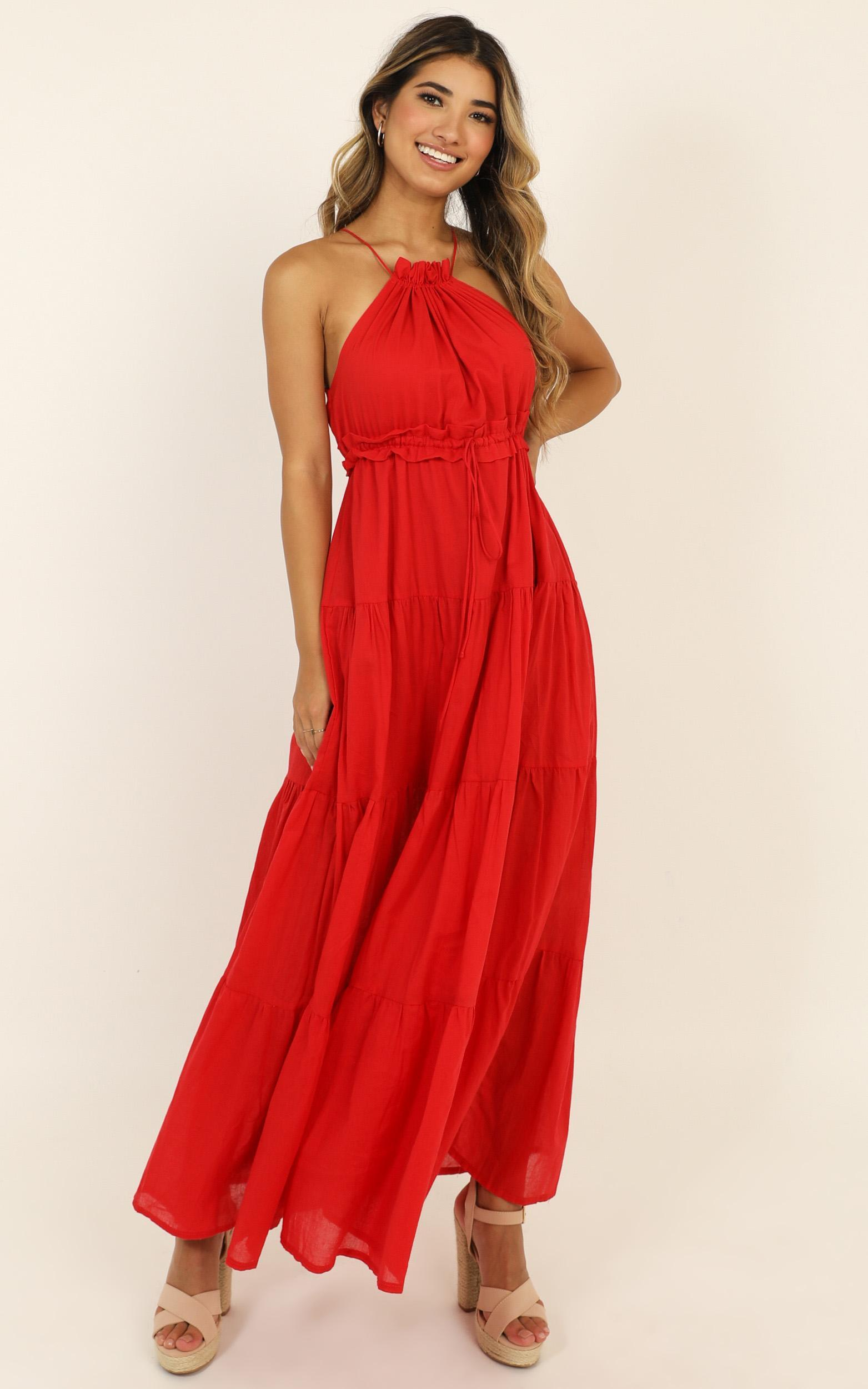 True Confidence Dress in red - 12 (L), Red, hi-res image number null