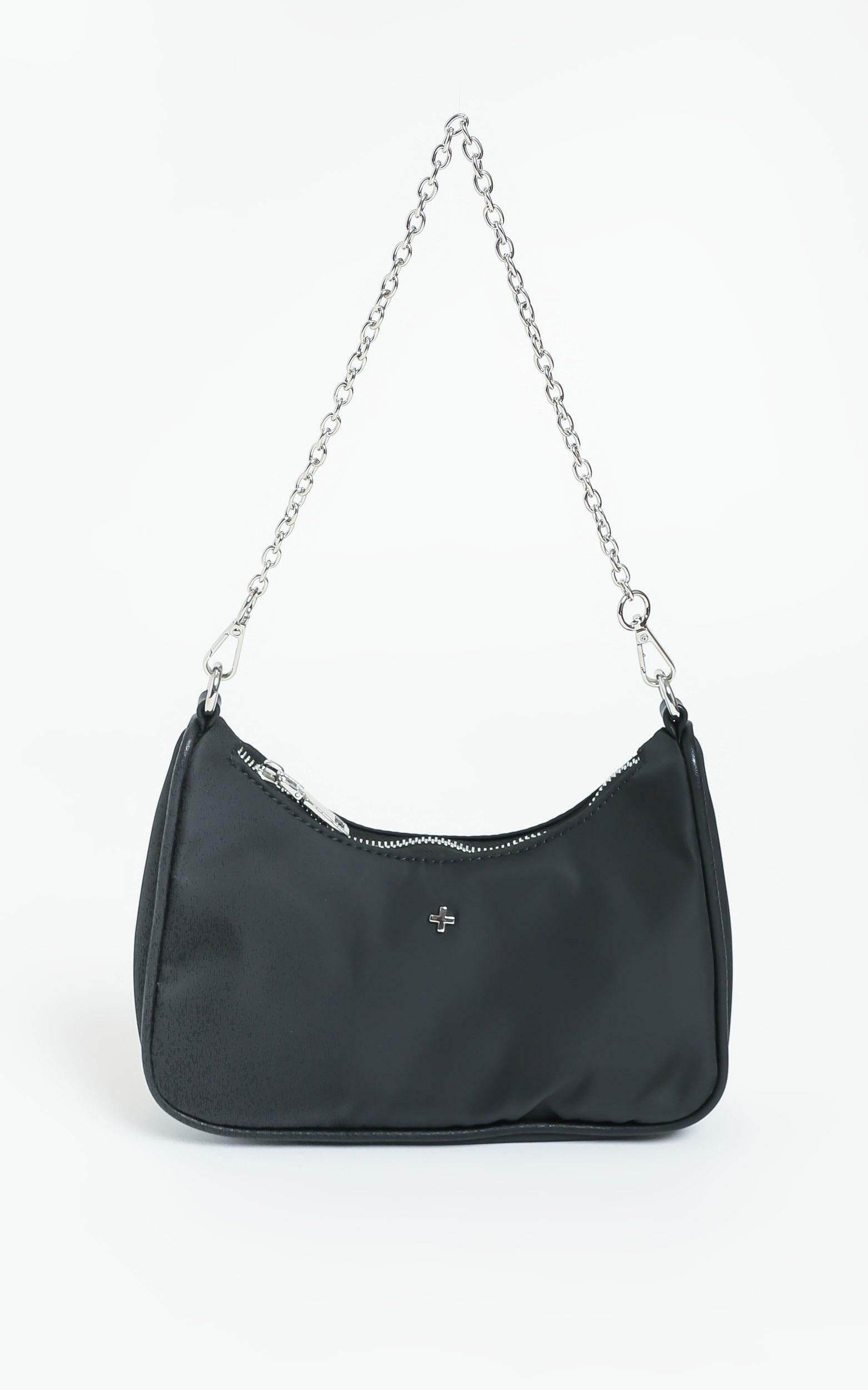 Peta and Jain - Paloma Bag In Black Nylon, Black, hi-res image number null
