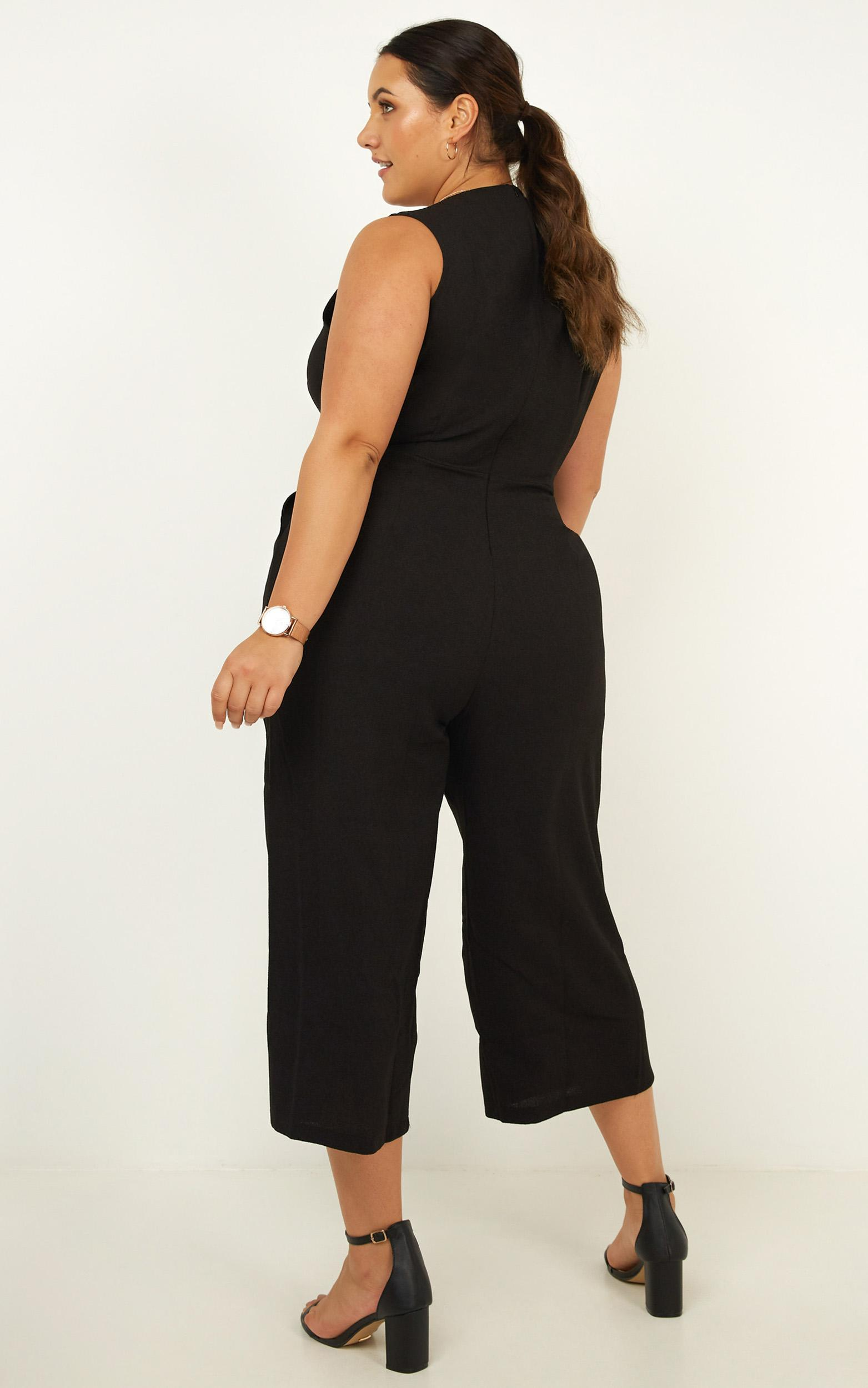 Training Day Jumpsuit in black - 20 (XXXXL), Black, hi-res image number null