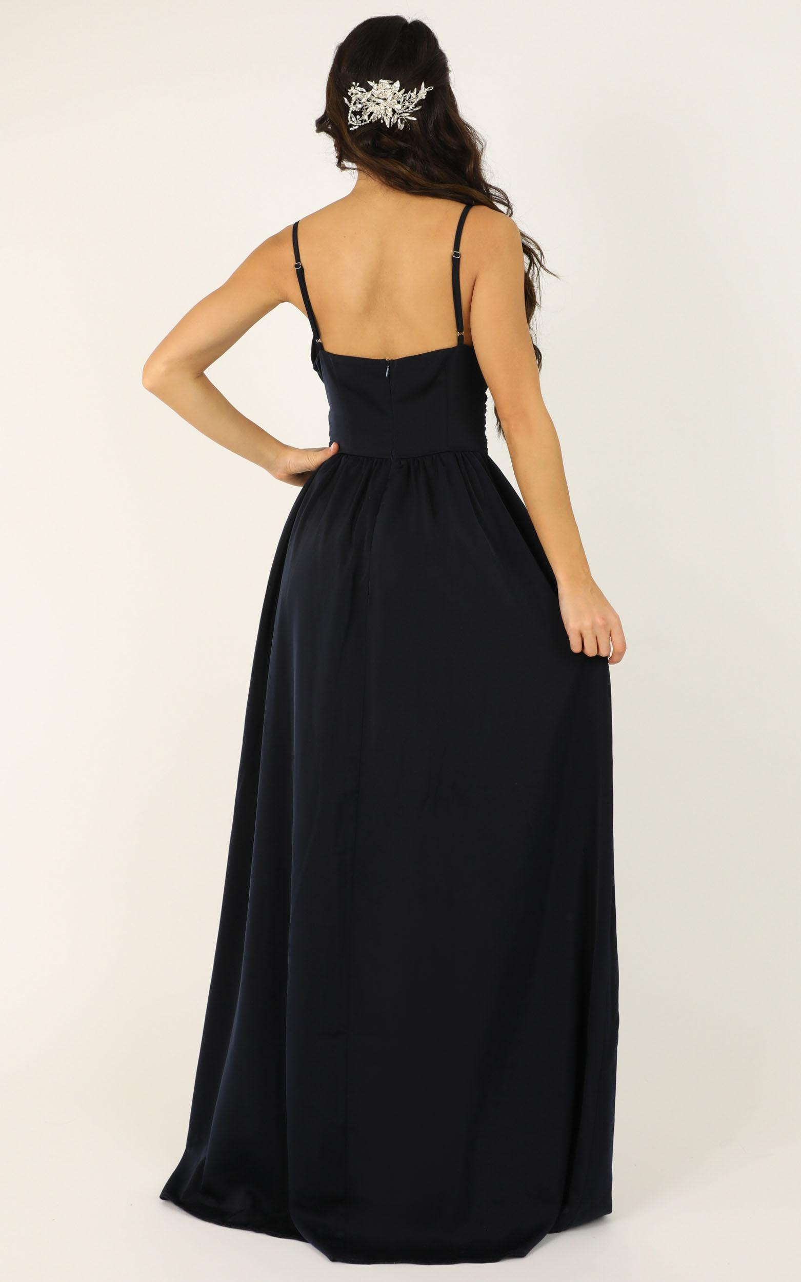 Revolve Around Me dress in navy - 20 (XXXXL), Navy, hi-res image number null