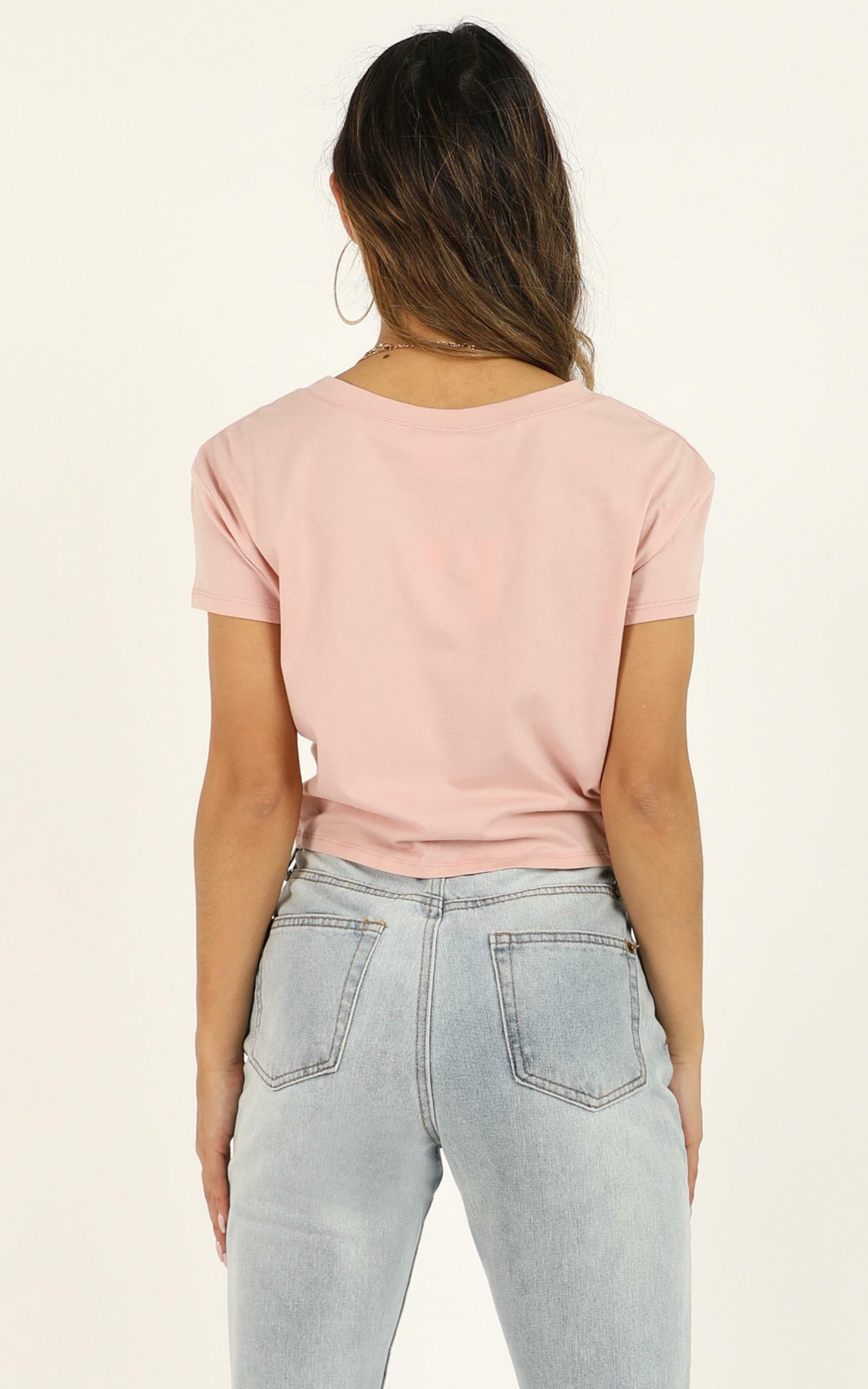 Love Of Mine tee in blush, Blush, hi-res image number null
