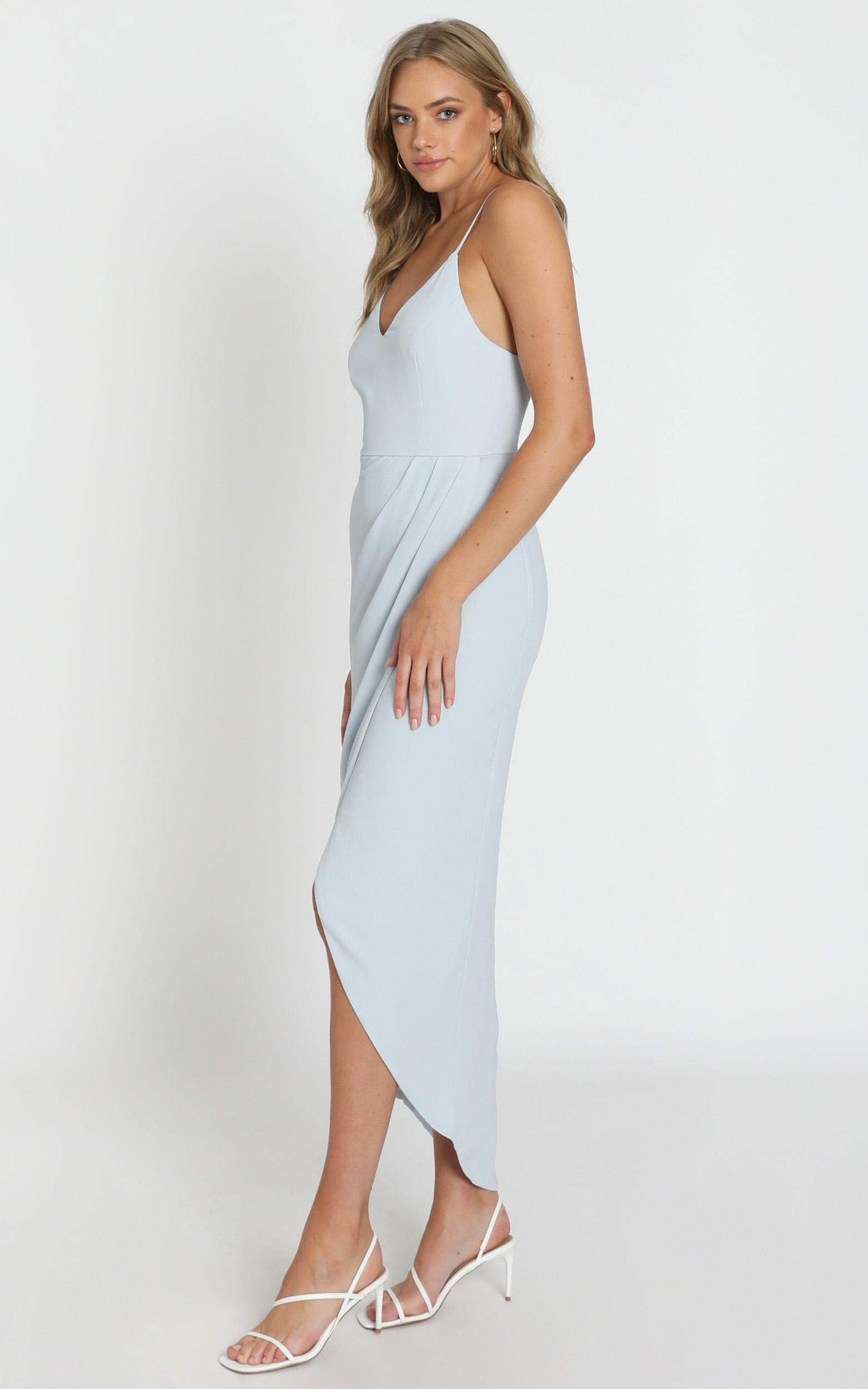 Lucky Day maxi dress in blue - 4 (XXS), Blue, hi-res image number null