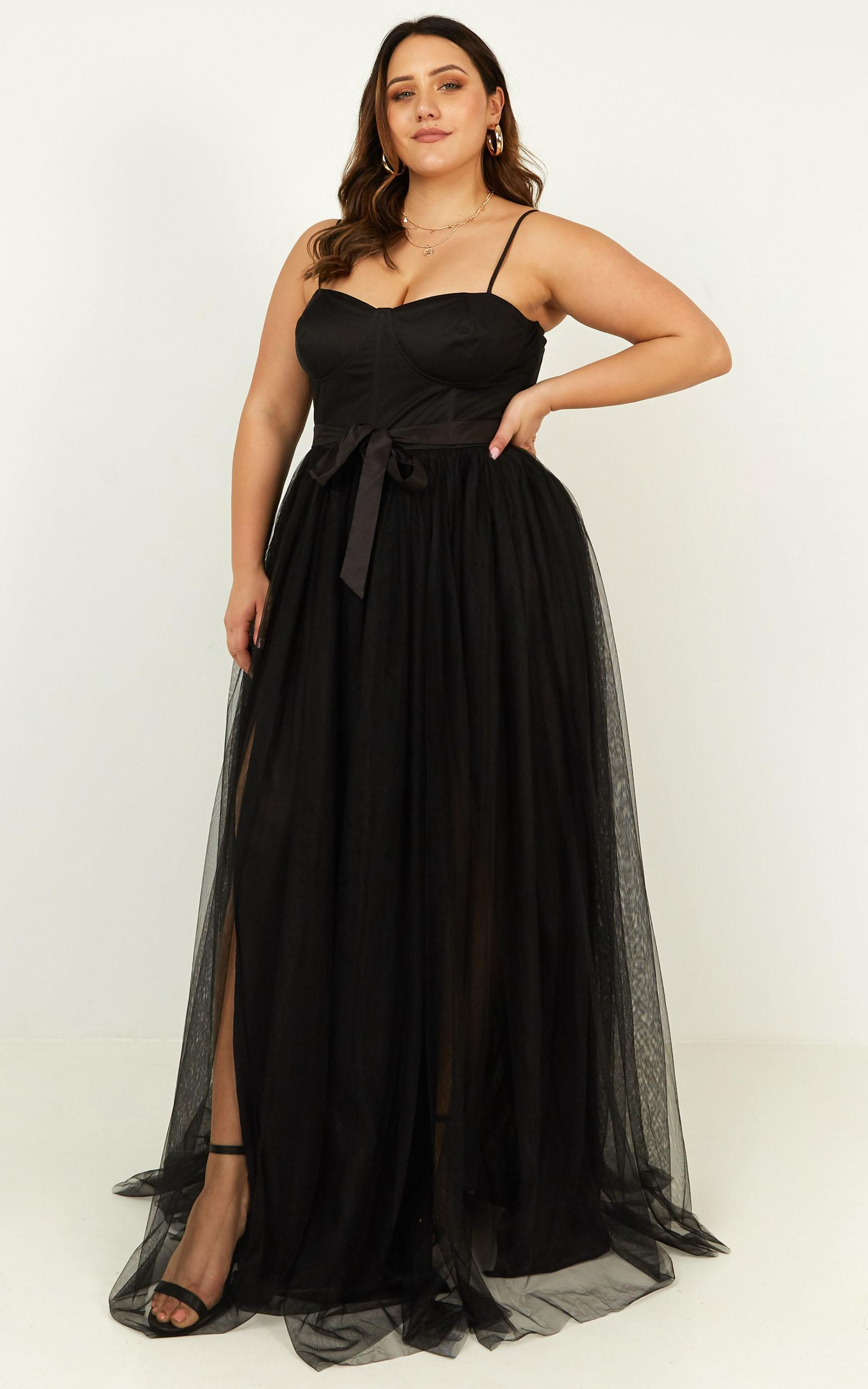 At the altar dress in black - 20 (XXXXL), Black, hi-res image number null