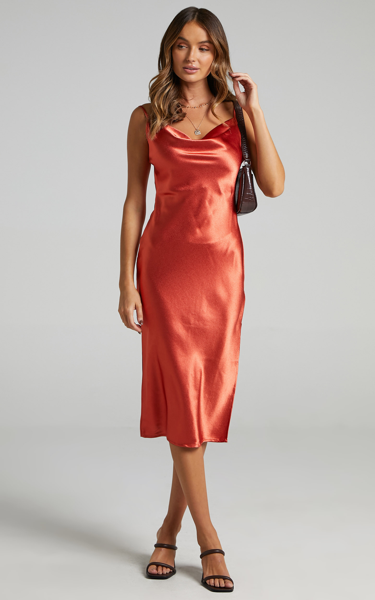 Maree Dress in Copper - 06, GLD2, hi-res image number null