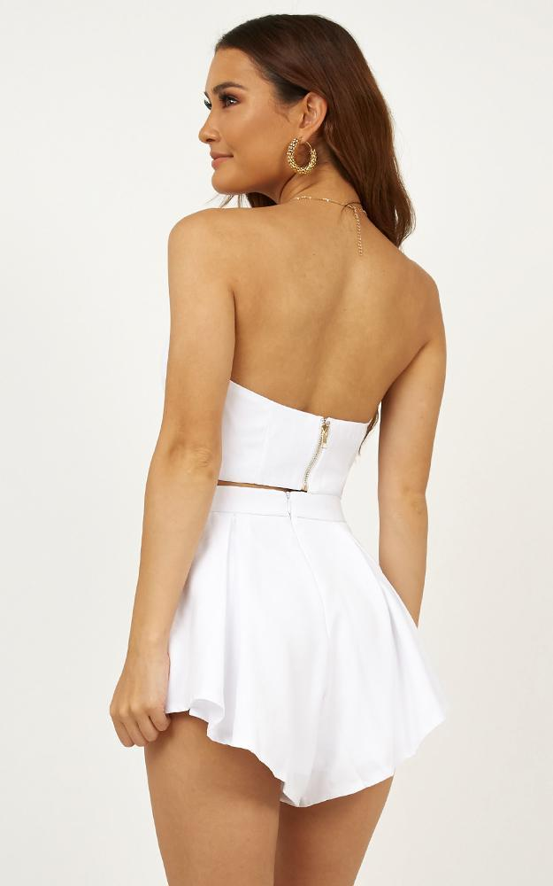 Dion two piece set in white - 4 (XXS), White, hi-res image number null