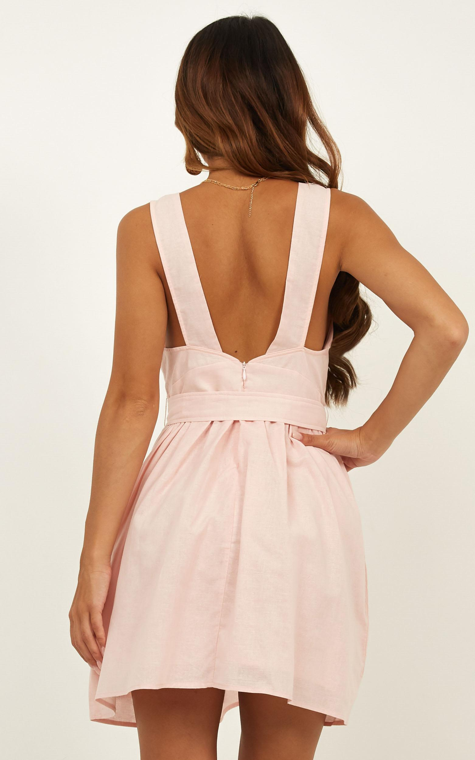 Valley Run Dress in blush, Blush, hi-res image number null