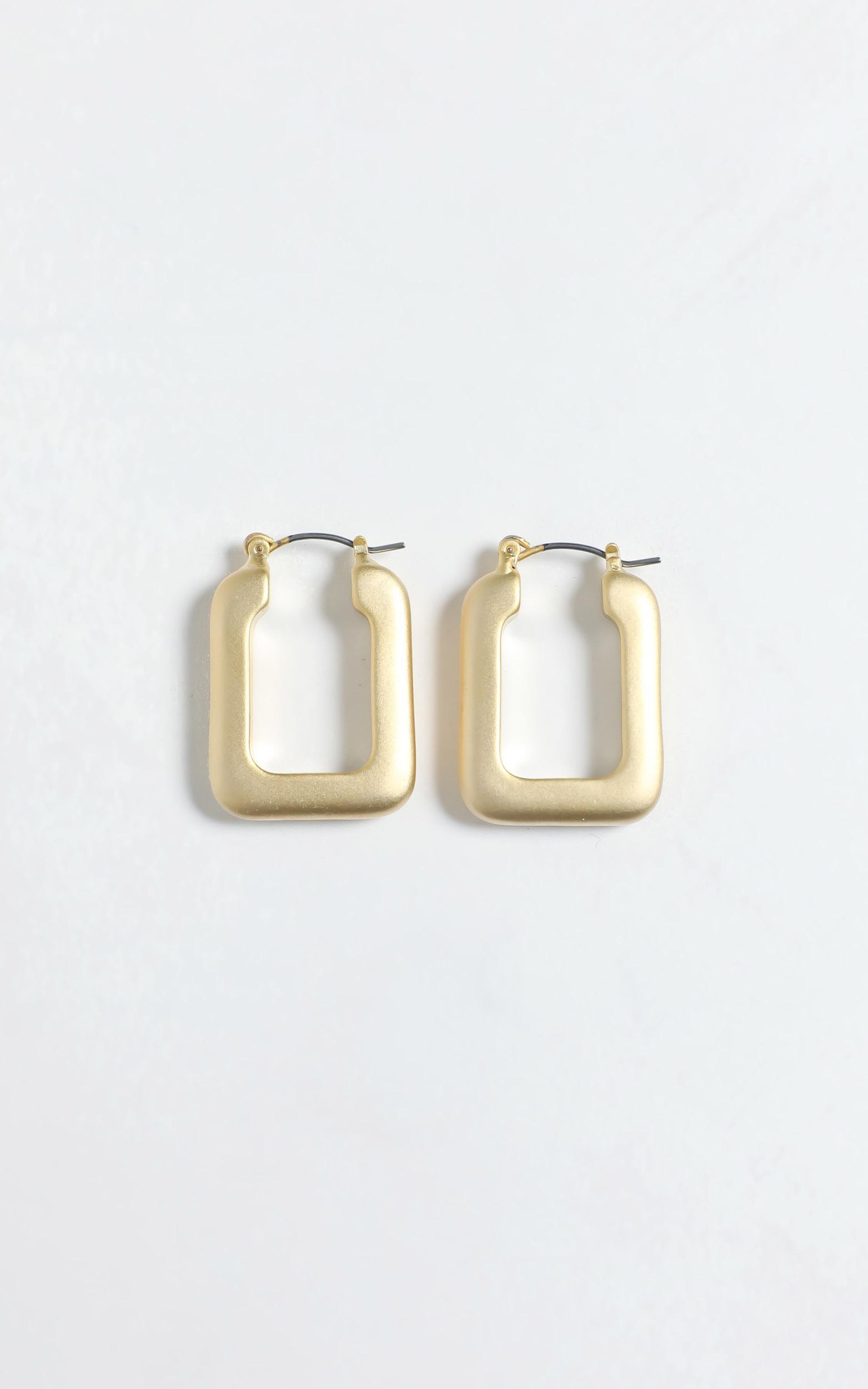 Linnea Earrings in Gold, , hi-res image number null