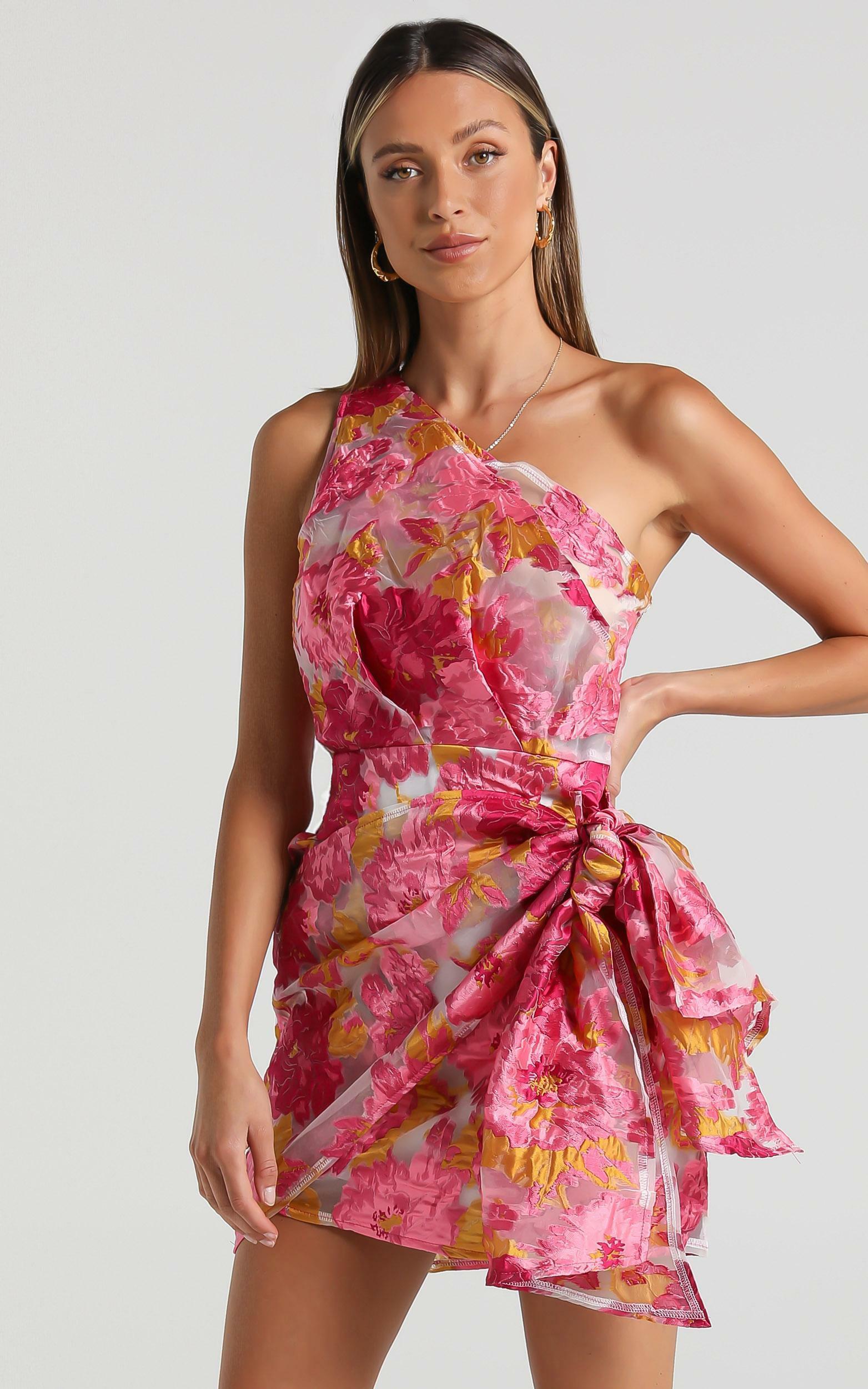 Brailey Dress in Pink Floral - 06, PNK1, hi-res image number null