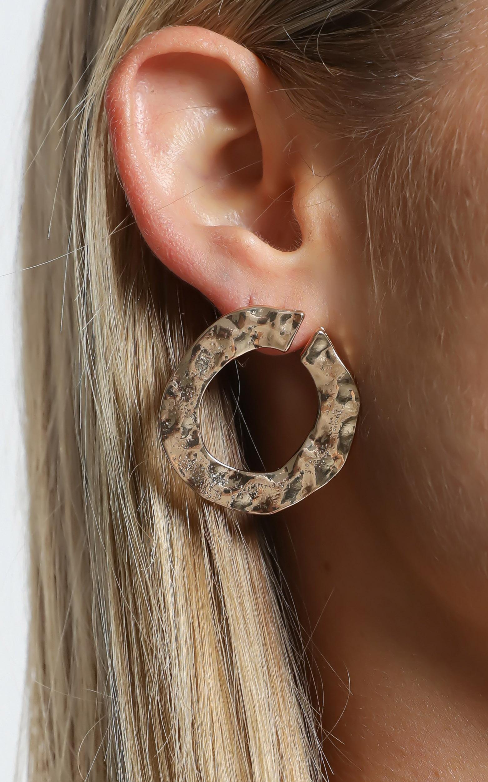 Basia Earrings in Gold, , hi-res image number null