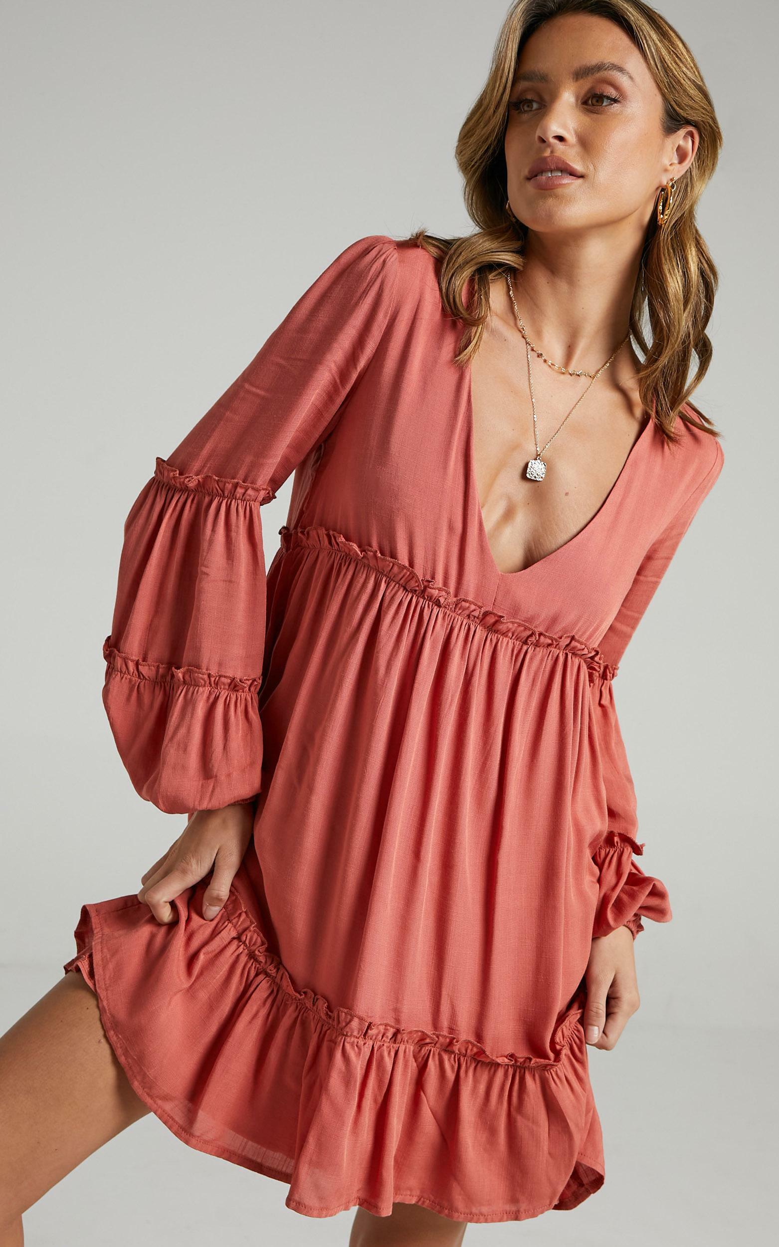 Summer Soul Dress in Rust - 04, BRN2, hi-res image number null