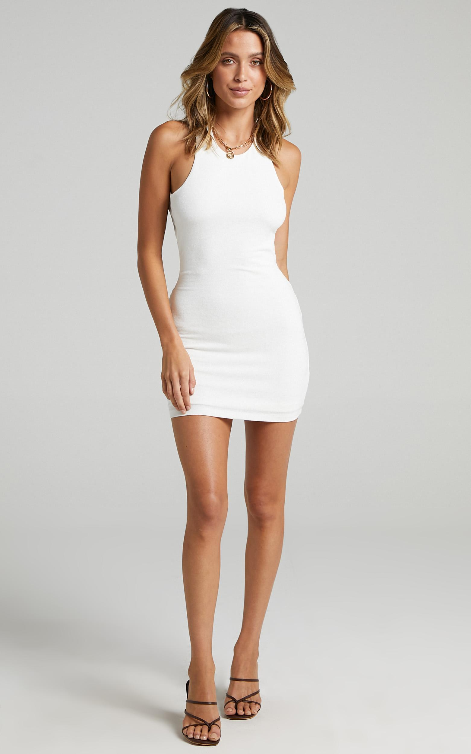 Lioness - The Clare Mini Dress in White - 6 (XS), White, hi-res image number null