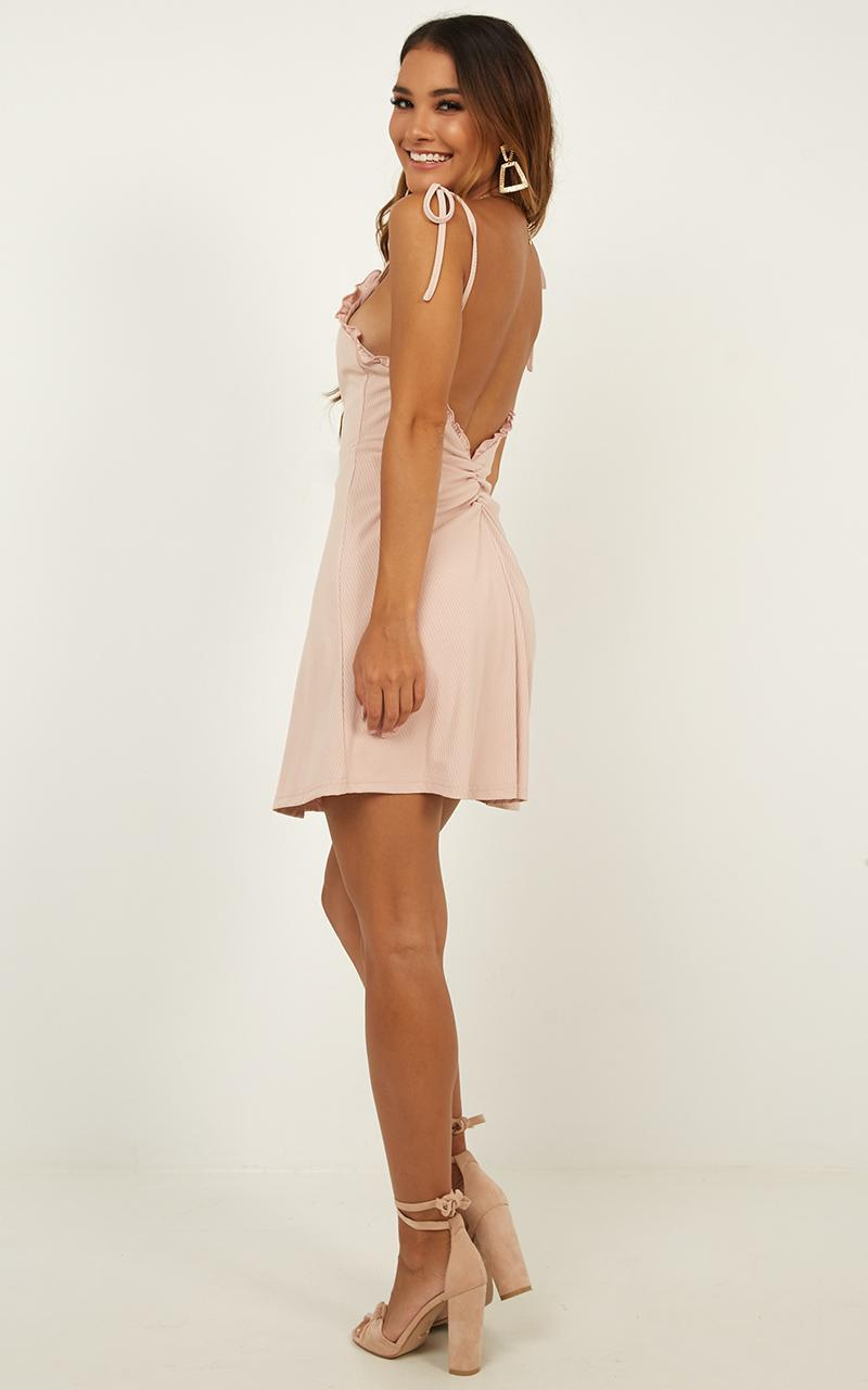 Bring It Out Dress In blush - 20 (XXXXL), Blush, hi-res image number null